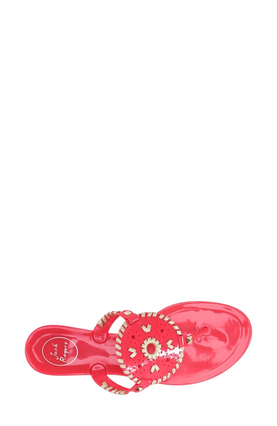 'Georgica' Jelly Flip Flop,                             Alternate thumbnail 158, color,