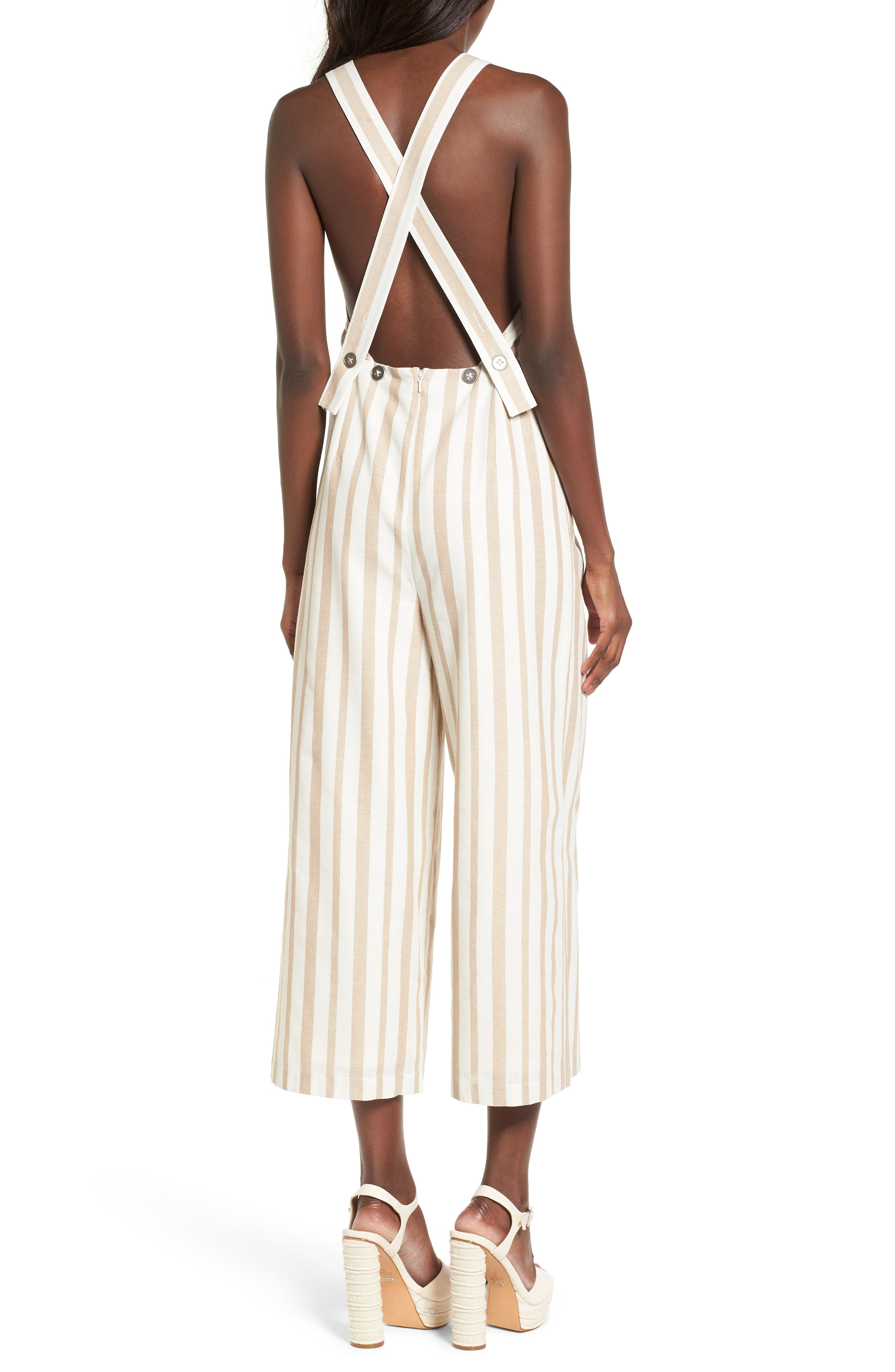 Chriselle x J.O.A. Wide Leg Jumpsuit,                             Alternate thumbnail 2, color,                             250