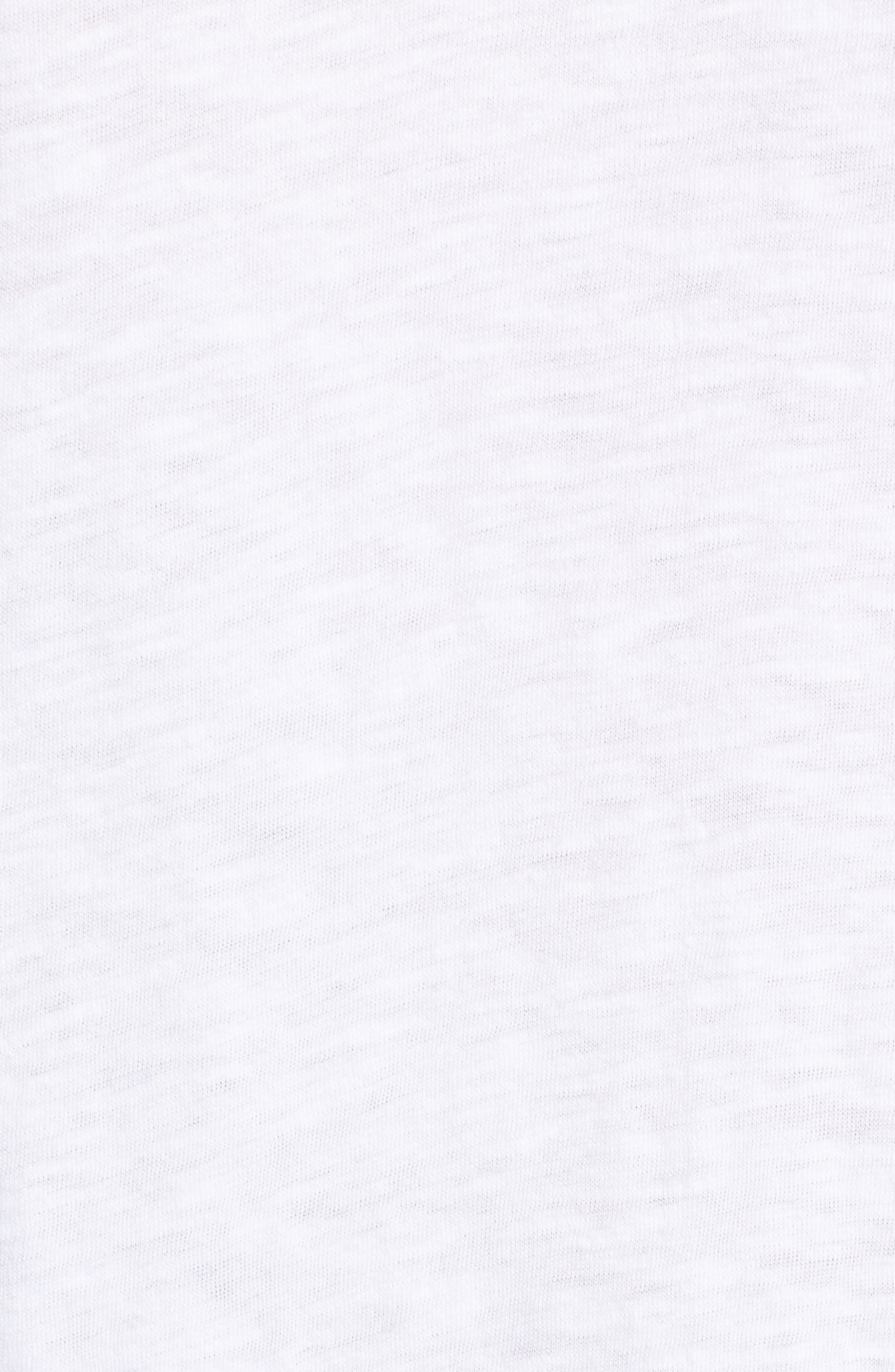 Pleat Sleeve Cotton Tee,                             Alternate thumbnail 23, color,
