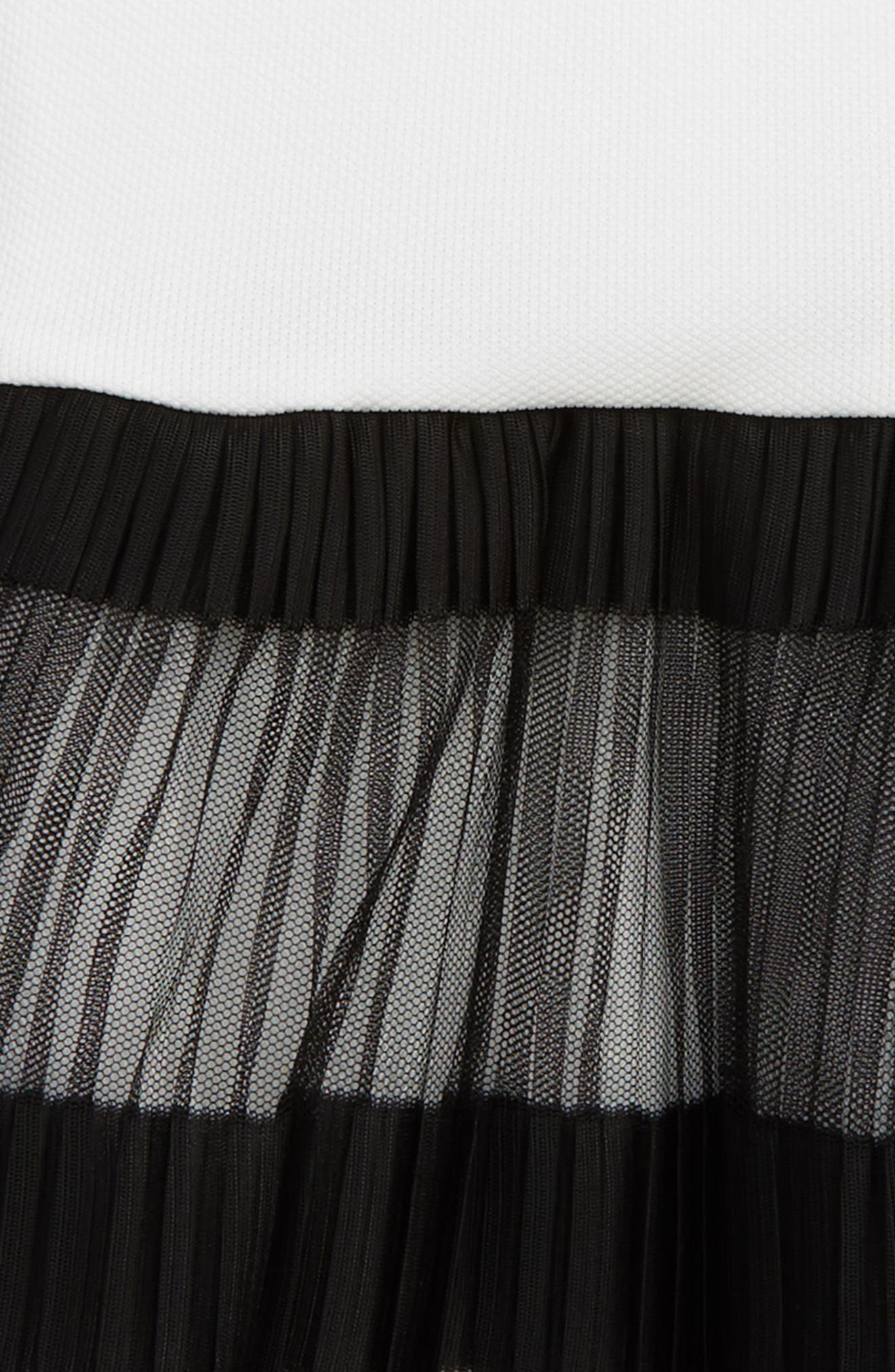 Accordion Pleated Dress,                             Alternate thumbnail 2, color,                             001