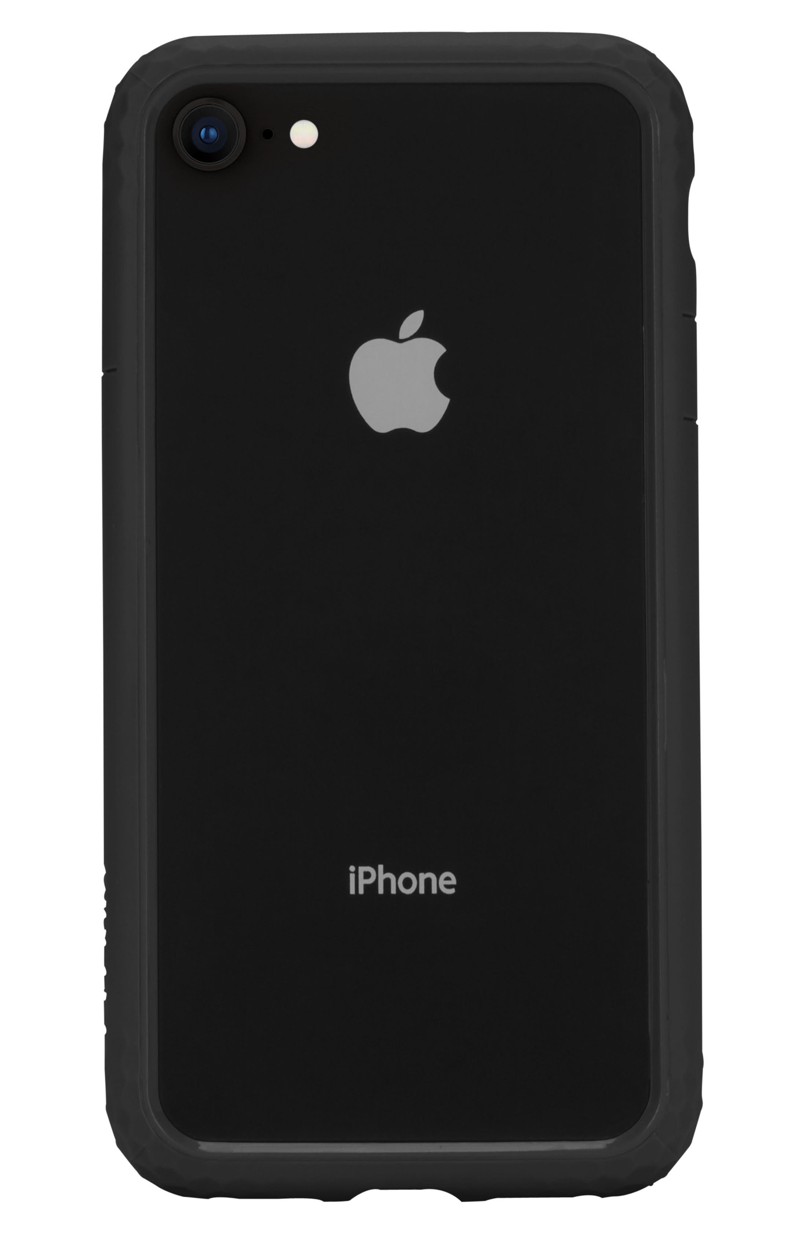 Frame iPhone 7/8 Case,                         Main,                         color, BLACK