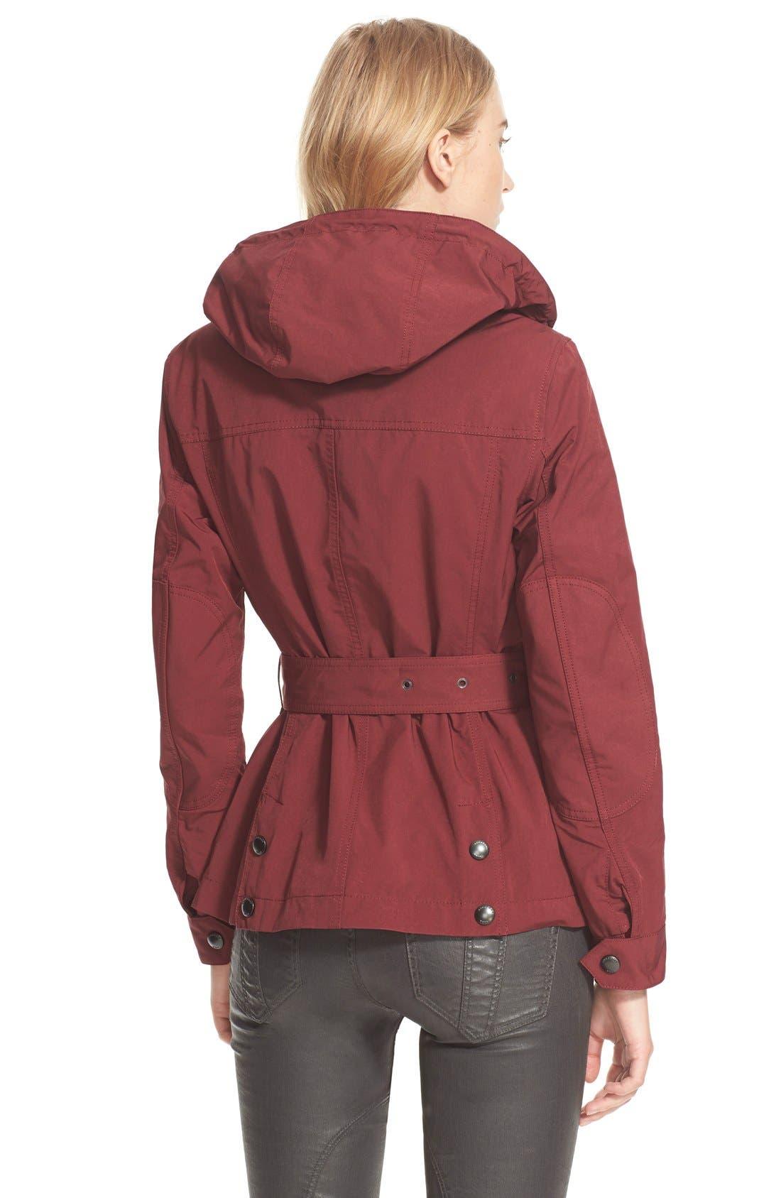 'Fenbridge' Belted Jacket,                             Alternate thumbnail 4, color,
