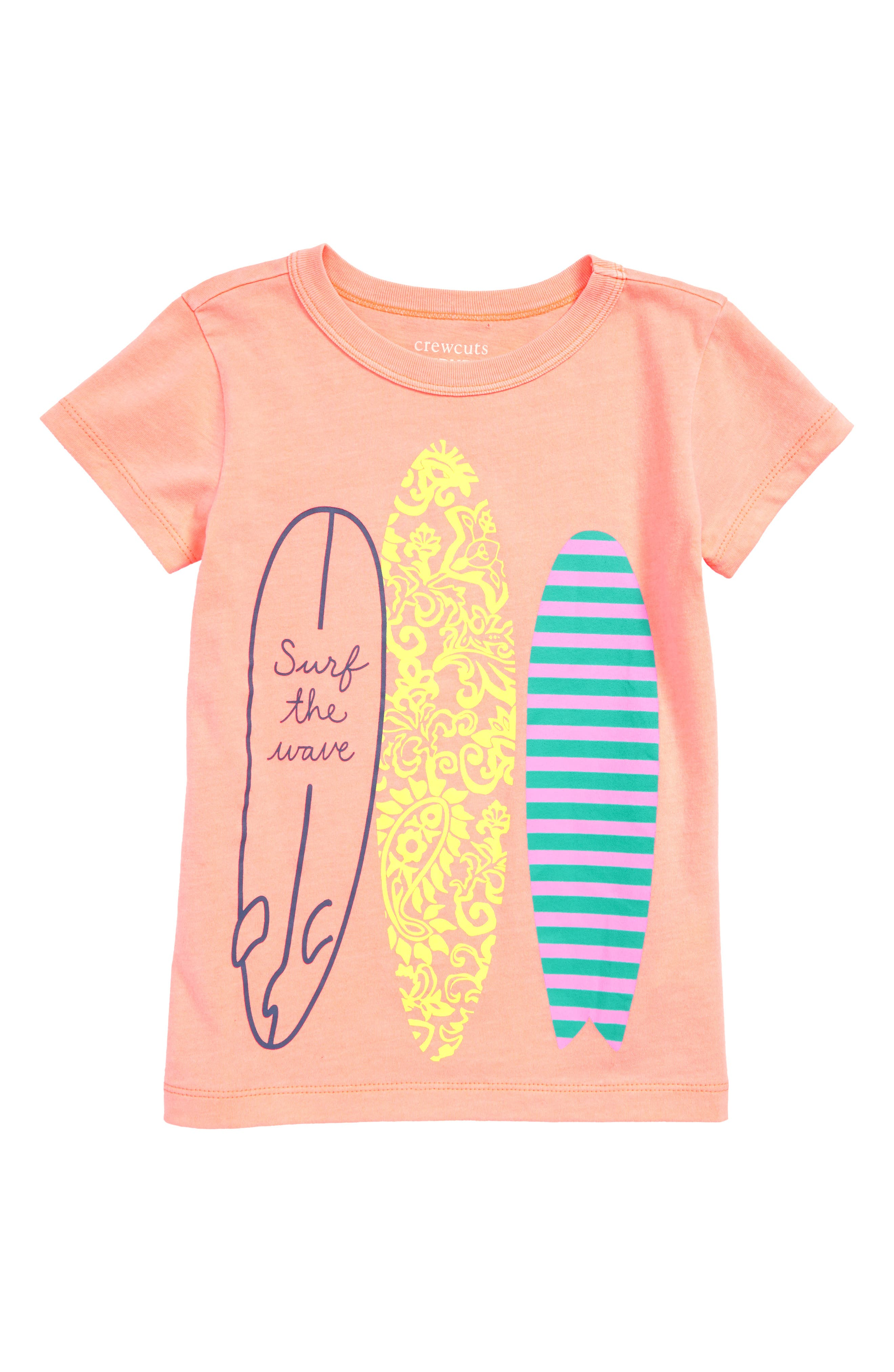 CREWCUTS BY J.CREW Surf the Wave Tee, Main, color, 800