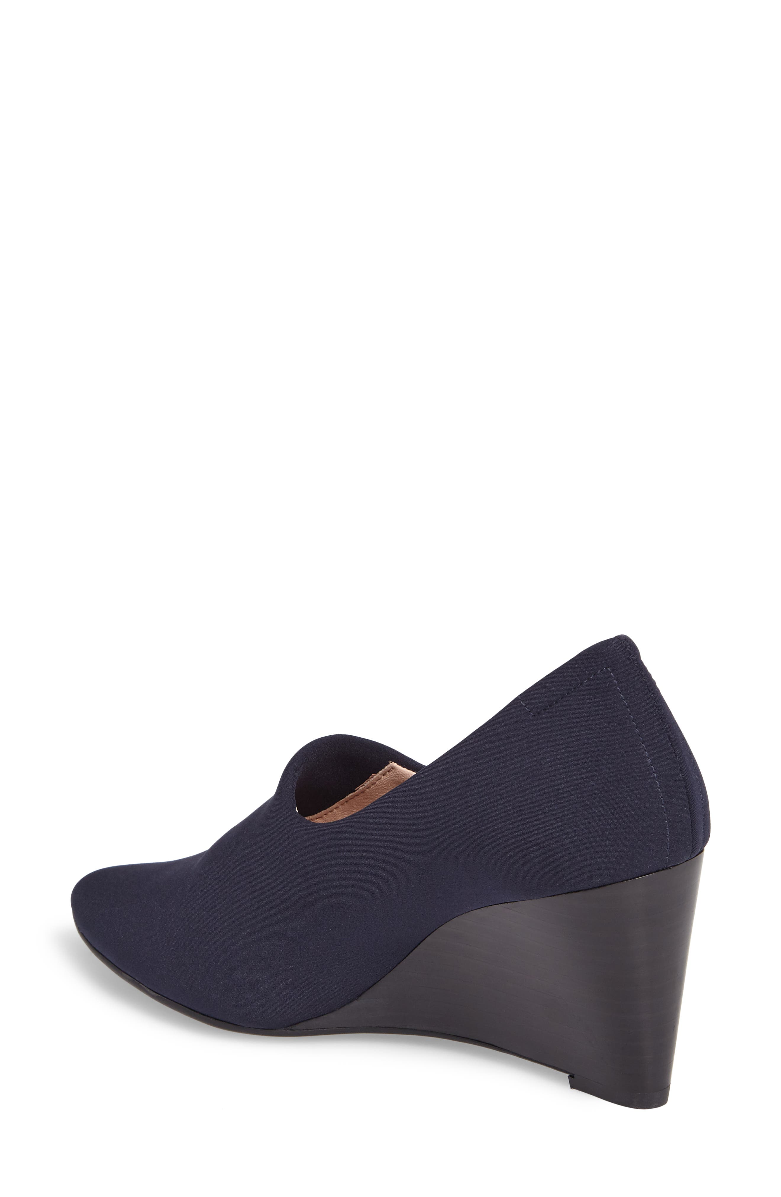 Yvonne Pointy Toe Wedge,                             Alternate thumbnail 4, color,