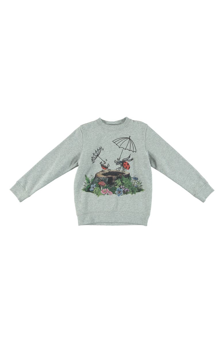 2fb0f64af Stella McCartney Kids Betty Ladybug Forest Sweatshirt (Toddler Girls ...