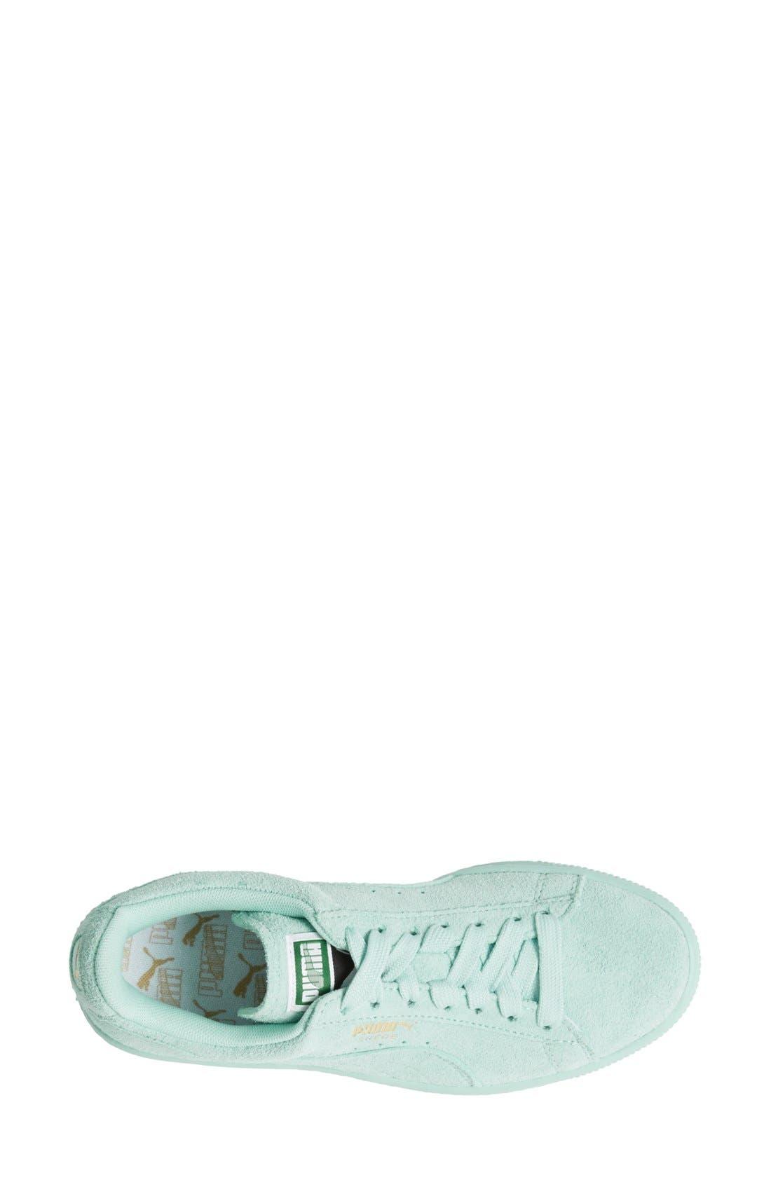 Suede Sneaker,                             Alternate thumbnail 75, color,