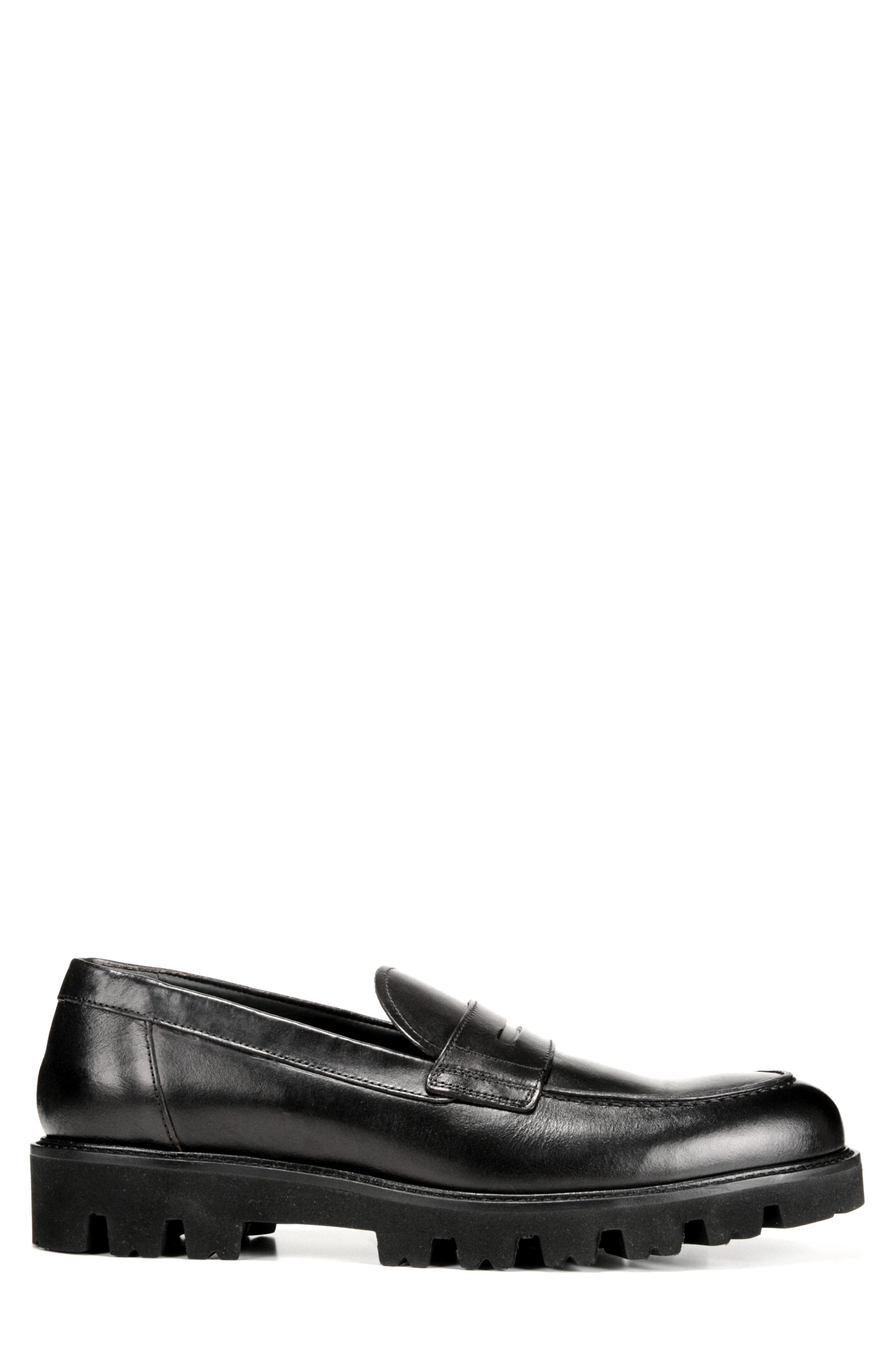 Comrade Loafer,                             Alternate thumbnail 3, color,                             BLACK
