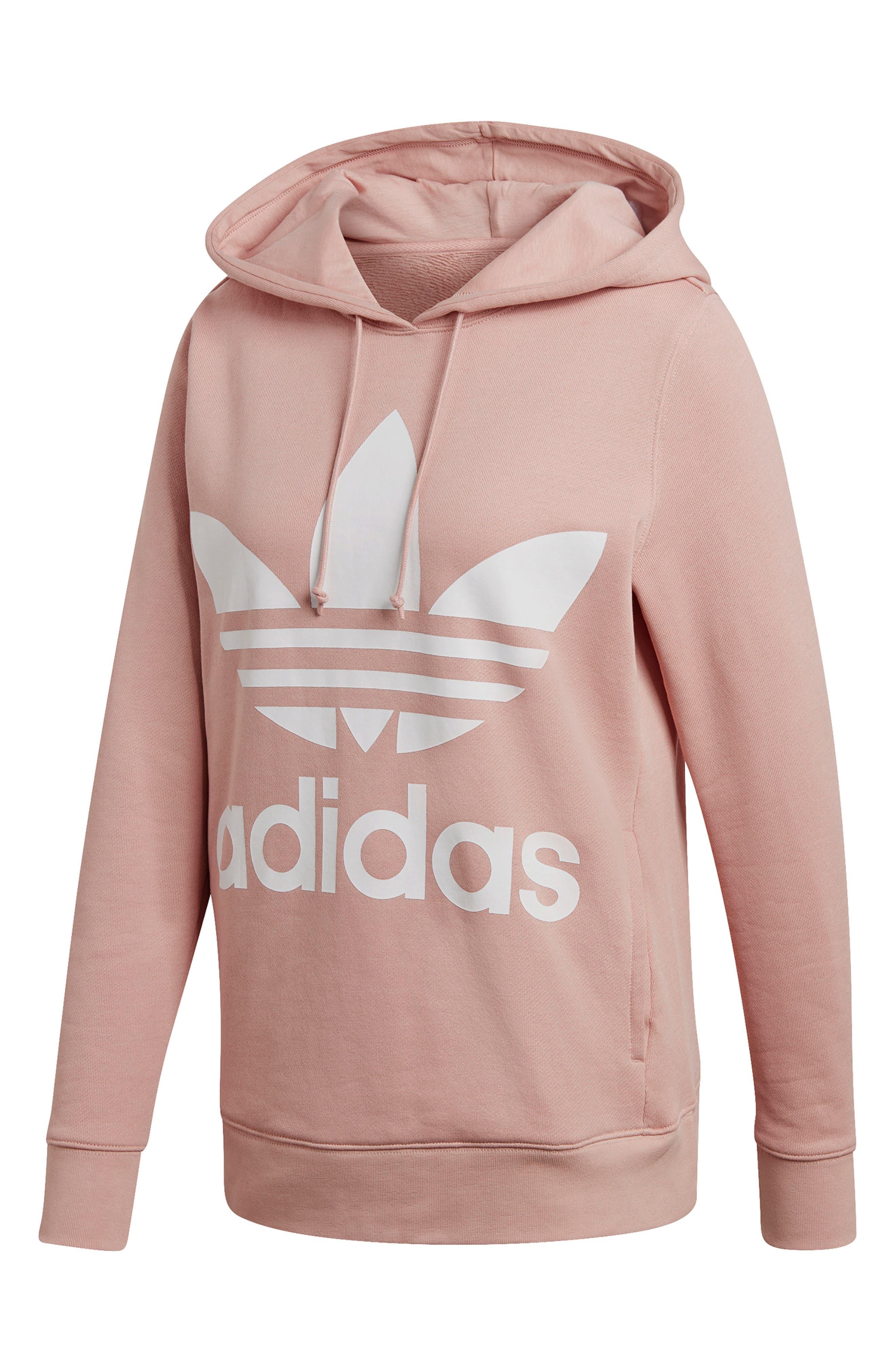 Adidas Originals Trefoil Hoodie, Pink