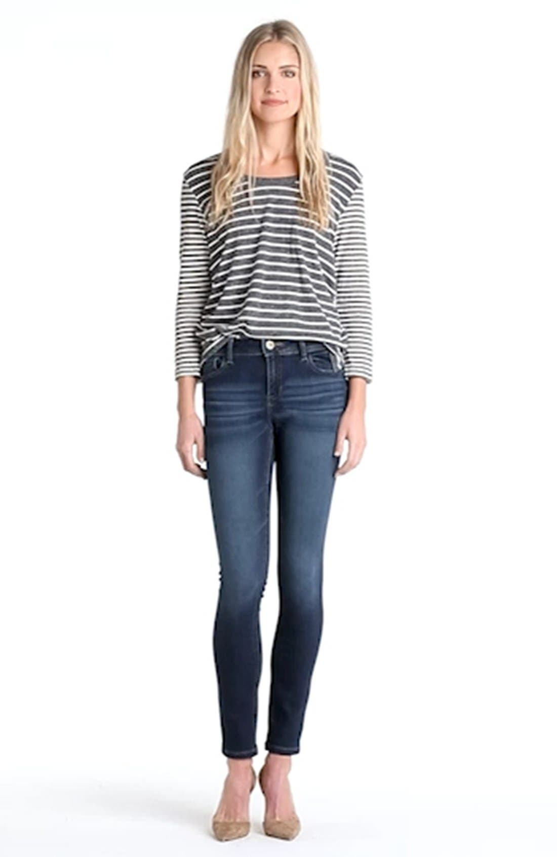 DL1961,                             'Florence' Instasculpt Skinny Jeans,                             Alternate thumbnail 3, color,                             WARNER