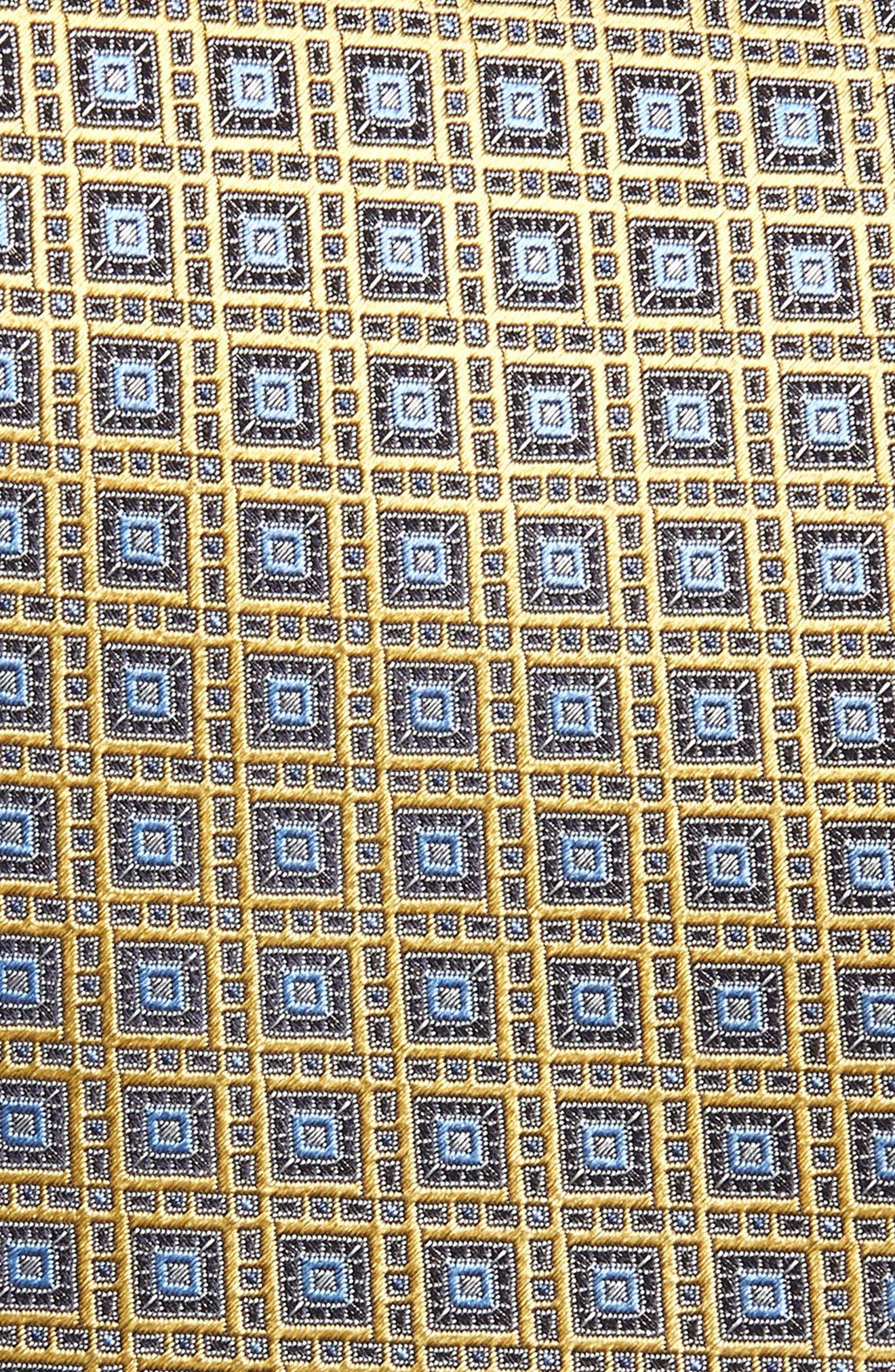 Medallion Silk Tie,                             Alternate thumbnail 2, color,                             700