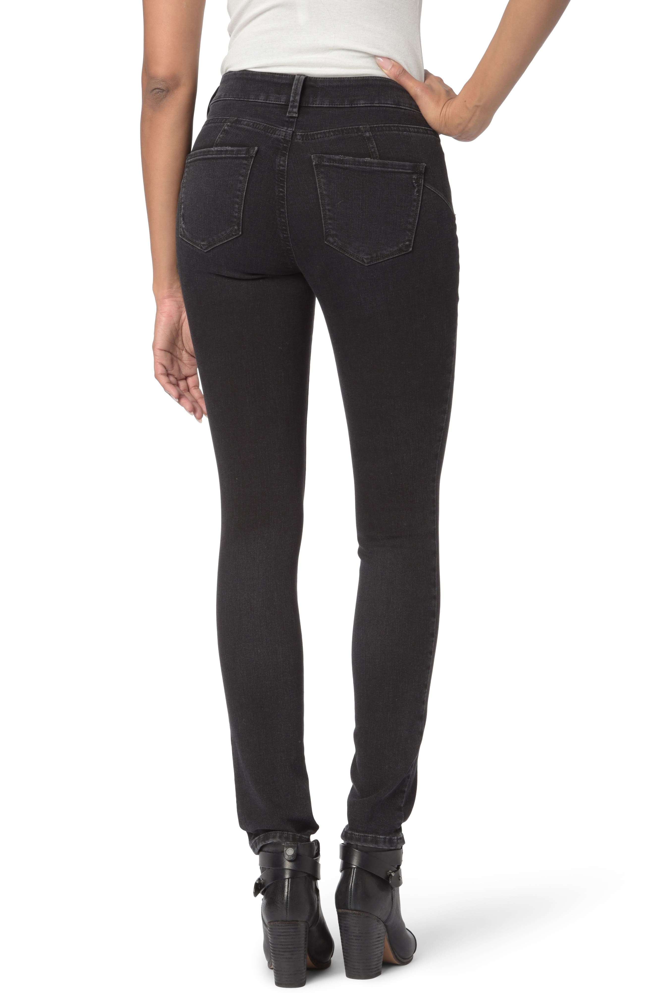 Alina Uplift Stretch Skinny Jeans,                             Alternate thumbnail 2, color,                             CAMPAIGN