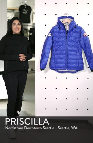 'PBI Camp' Packable Hooded Down Jacket, sales video thumbnail