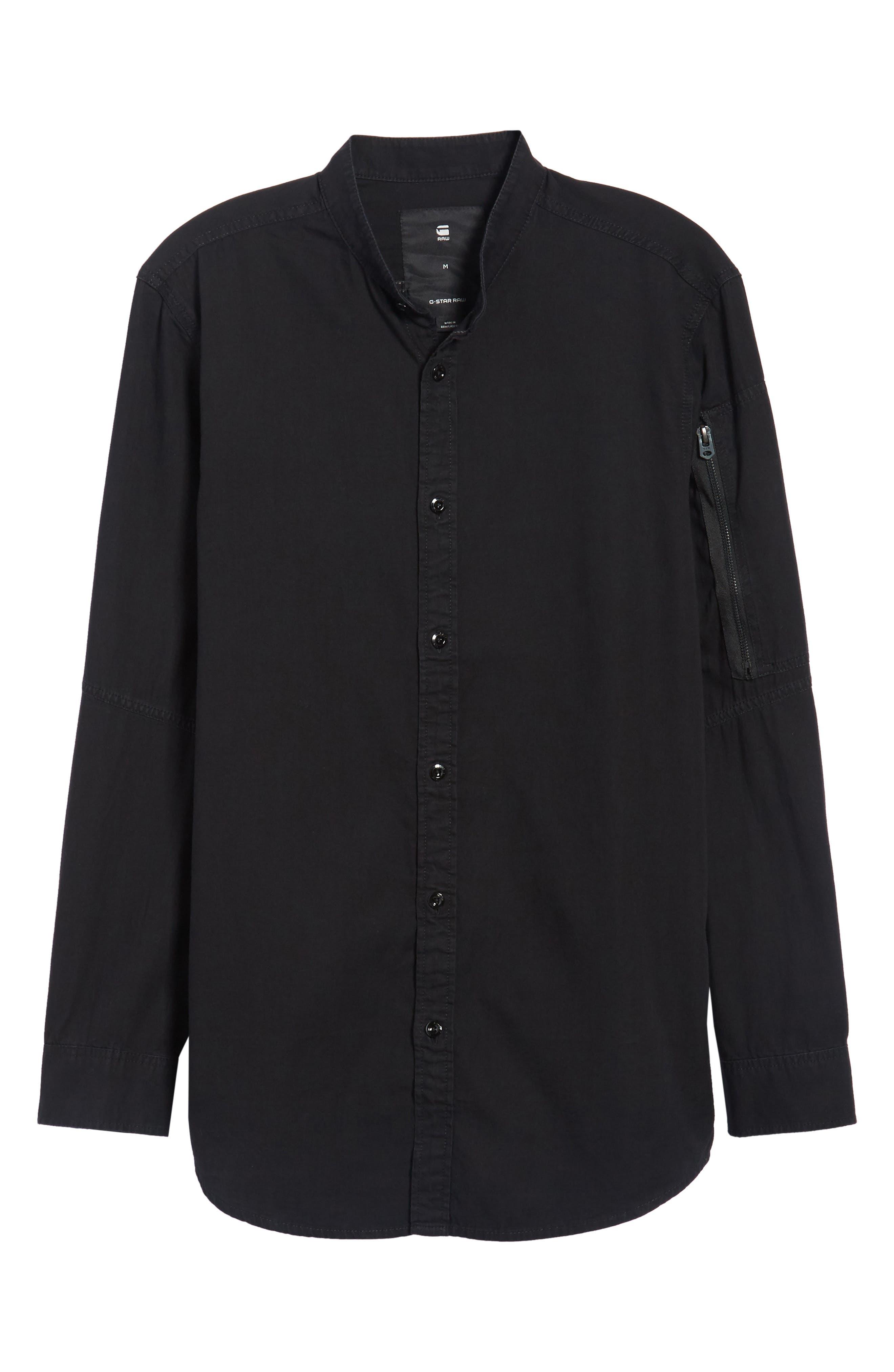 Stalt C-Less Shirt,                             Alternate thumbnail 6, color,                             001