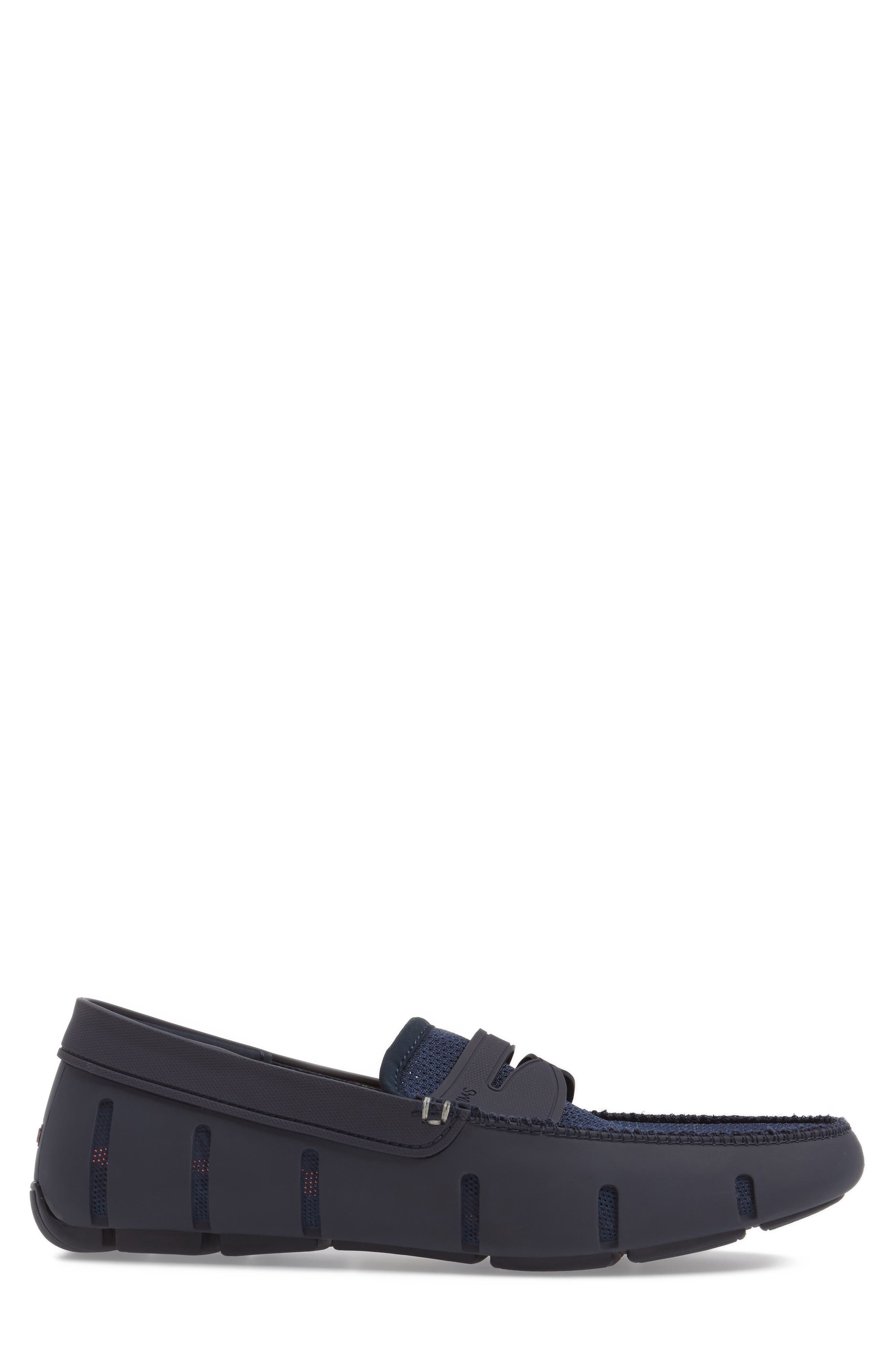 Penny Loafer,                             Alternate thumbnail 3, color,                             NAVY/NAVY