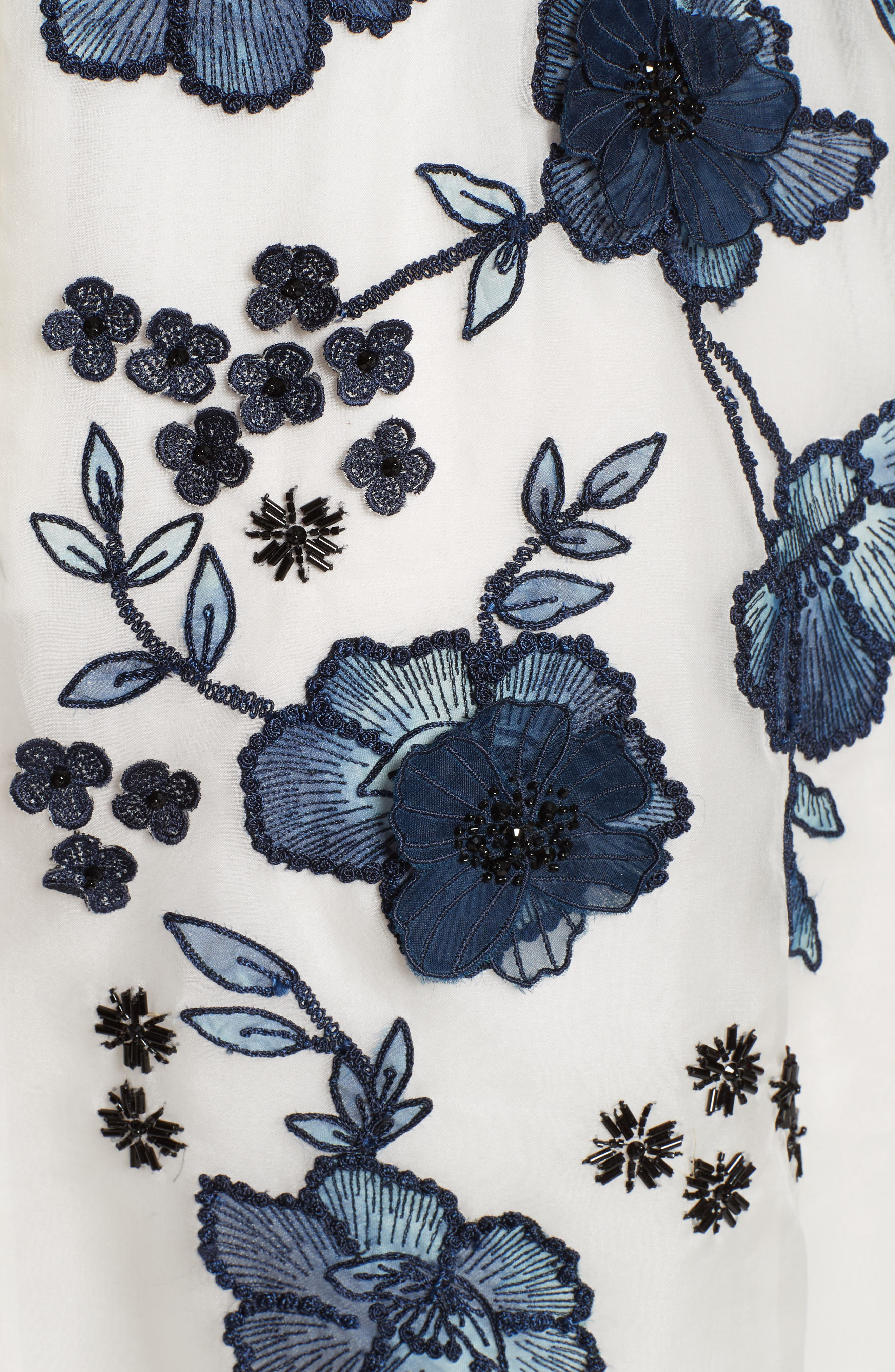 Floral Embroidered Dress,                             Alternate thumbnail 5, color,                             413