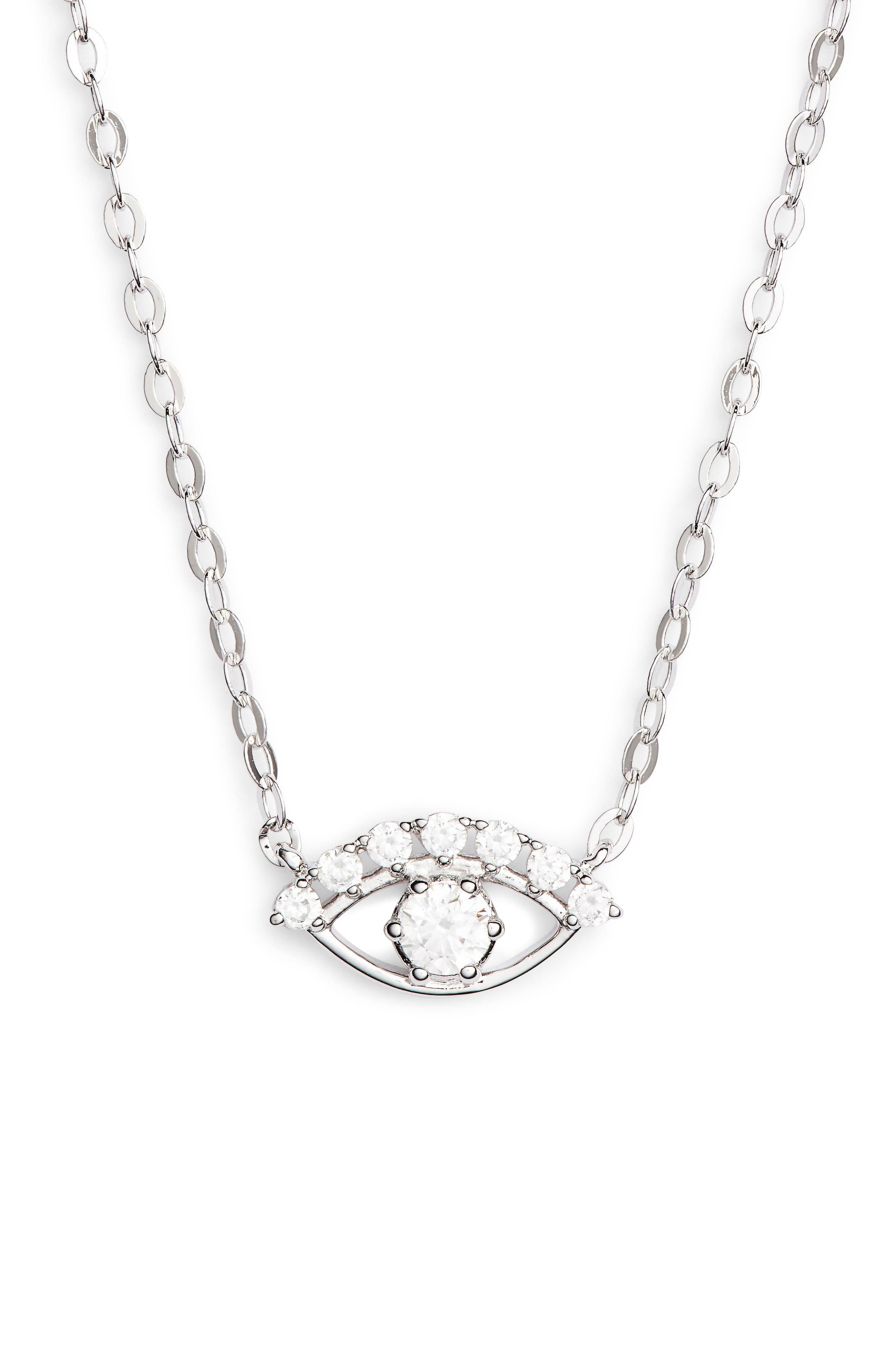 Reminisce Eye Necklace, Main, color, 040