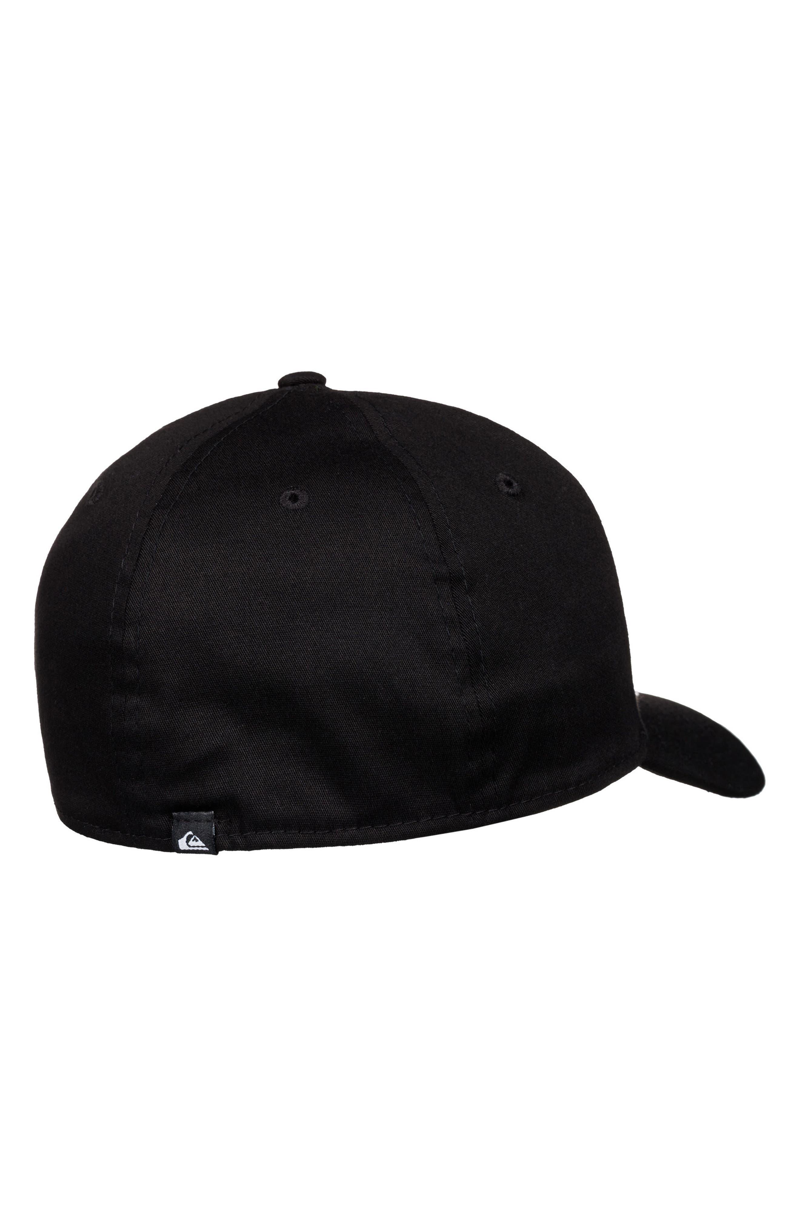 Mountain & Wave Baseball Cap,                             Alternate thumbnail 3, color,                             BLACK
