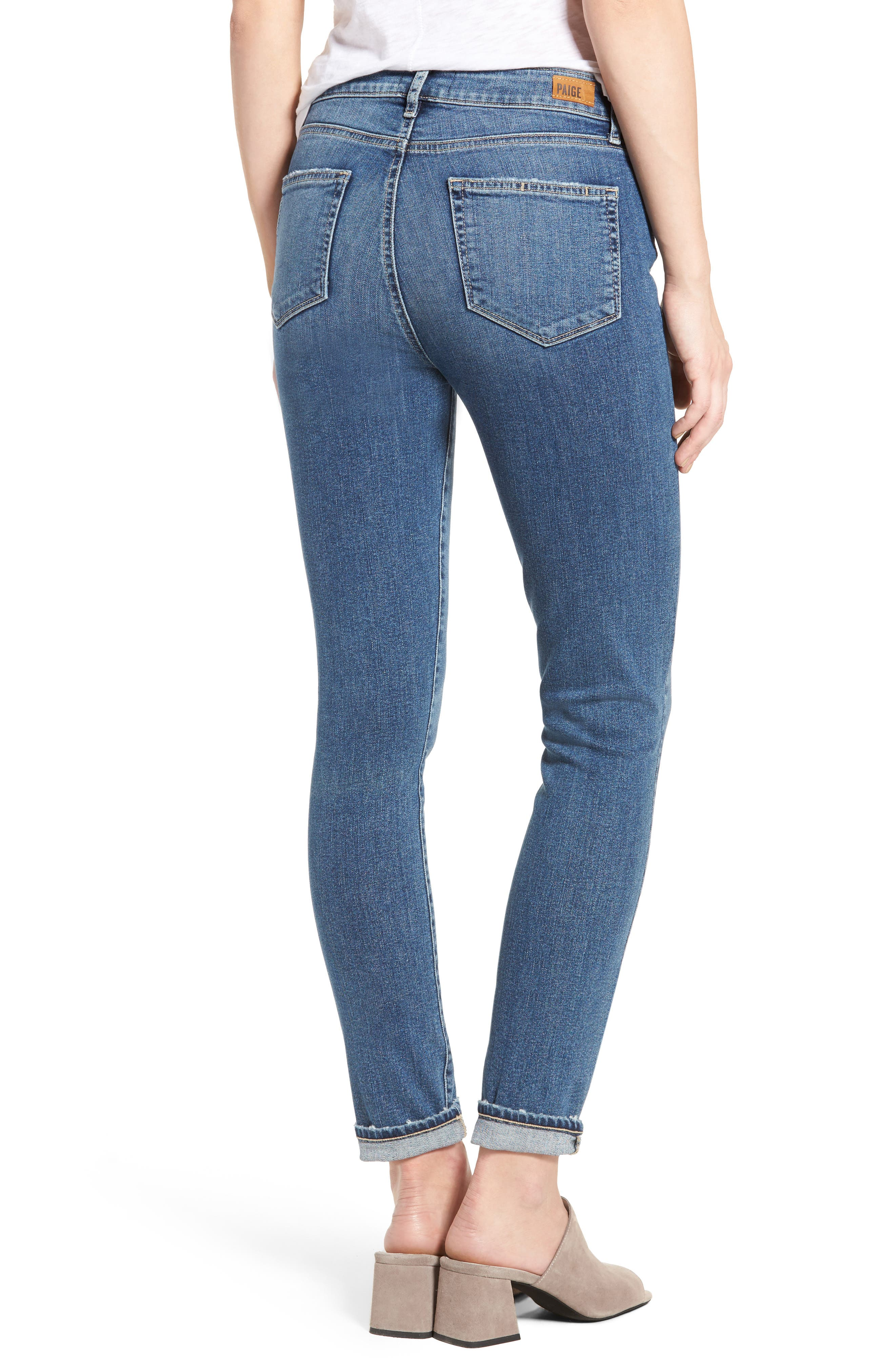 Hoxton High Waist Ultra Skinny Jeans,                             Alternate thumbnail 2, color,                             400