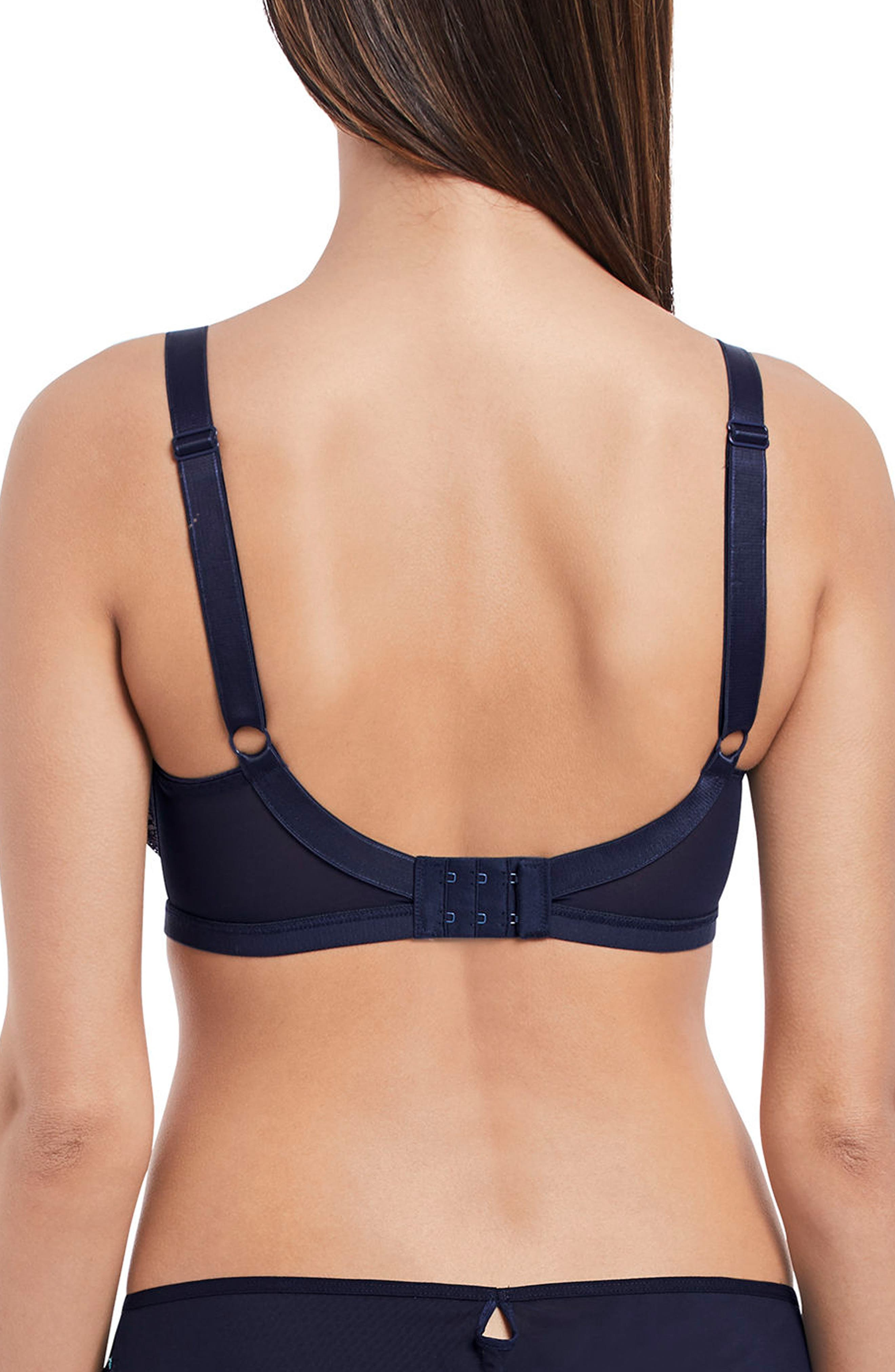 Underwire Plunge Balcony Bra,                             Alternate thumbnail 2, color,