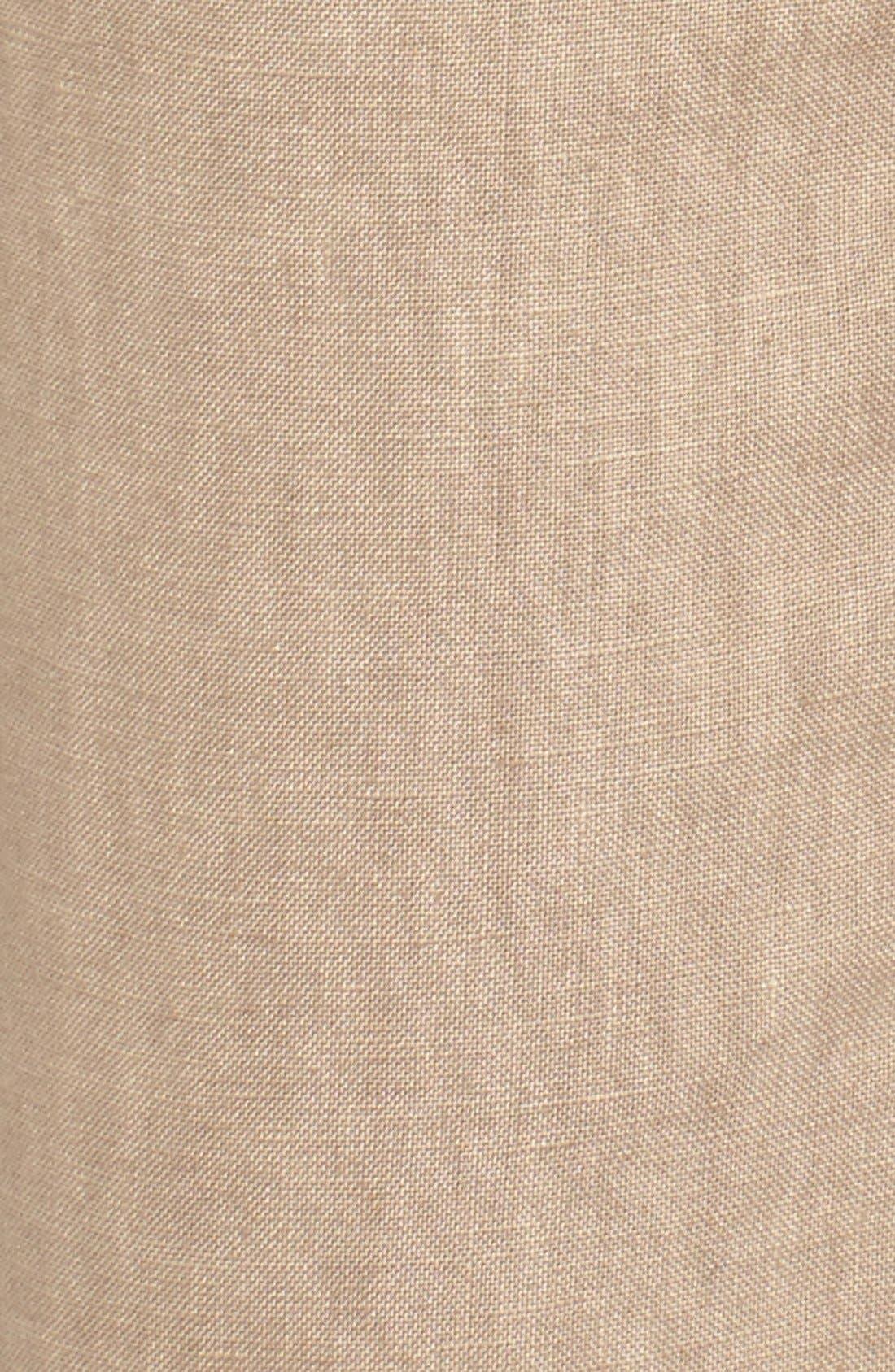 Crop Linen Joggers,                             Alternate thumbnail 28, color,