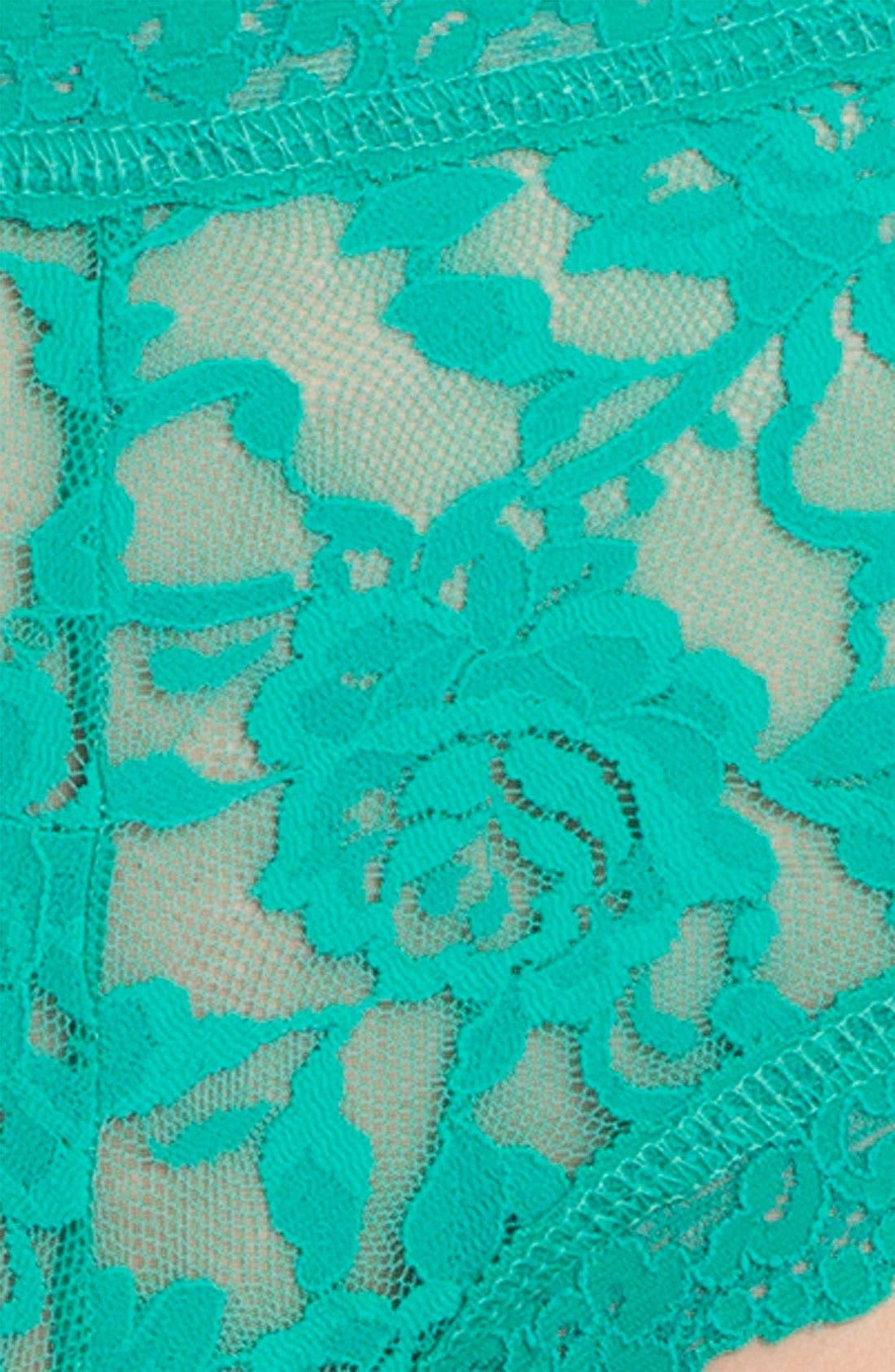 'Signature Lace' Boyshorts,                             Alternate thumbnail 191, color,