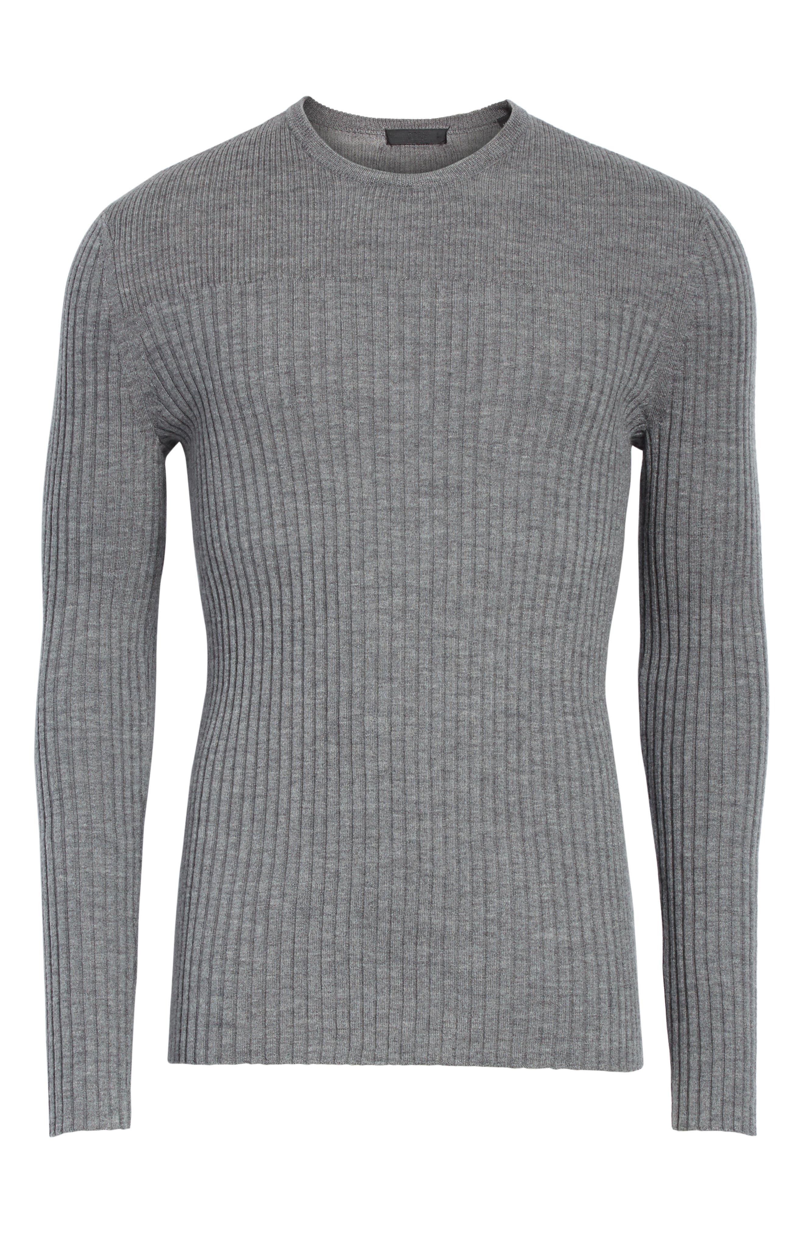 Merino Wool Sweater,                             Alternate thumbnail 6, color,                             030