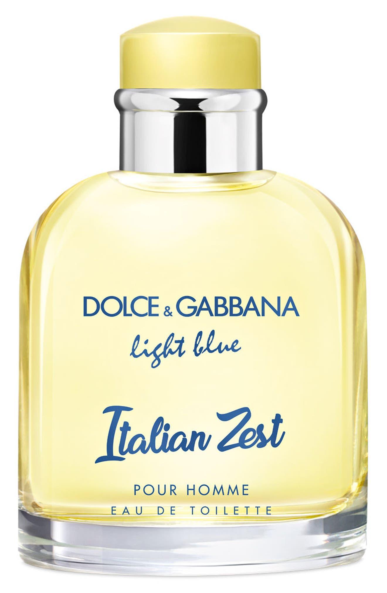 Dolce&Gabbana Light Blue Italian Zest pour Homme Eau de Toilette,                         Main,                         color,