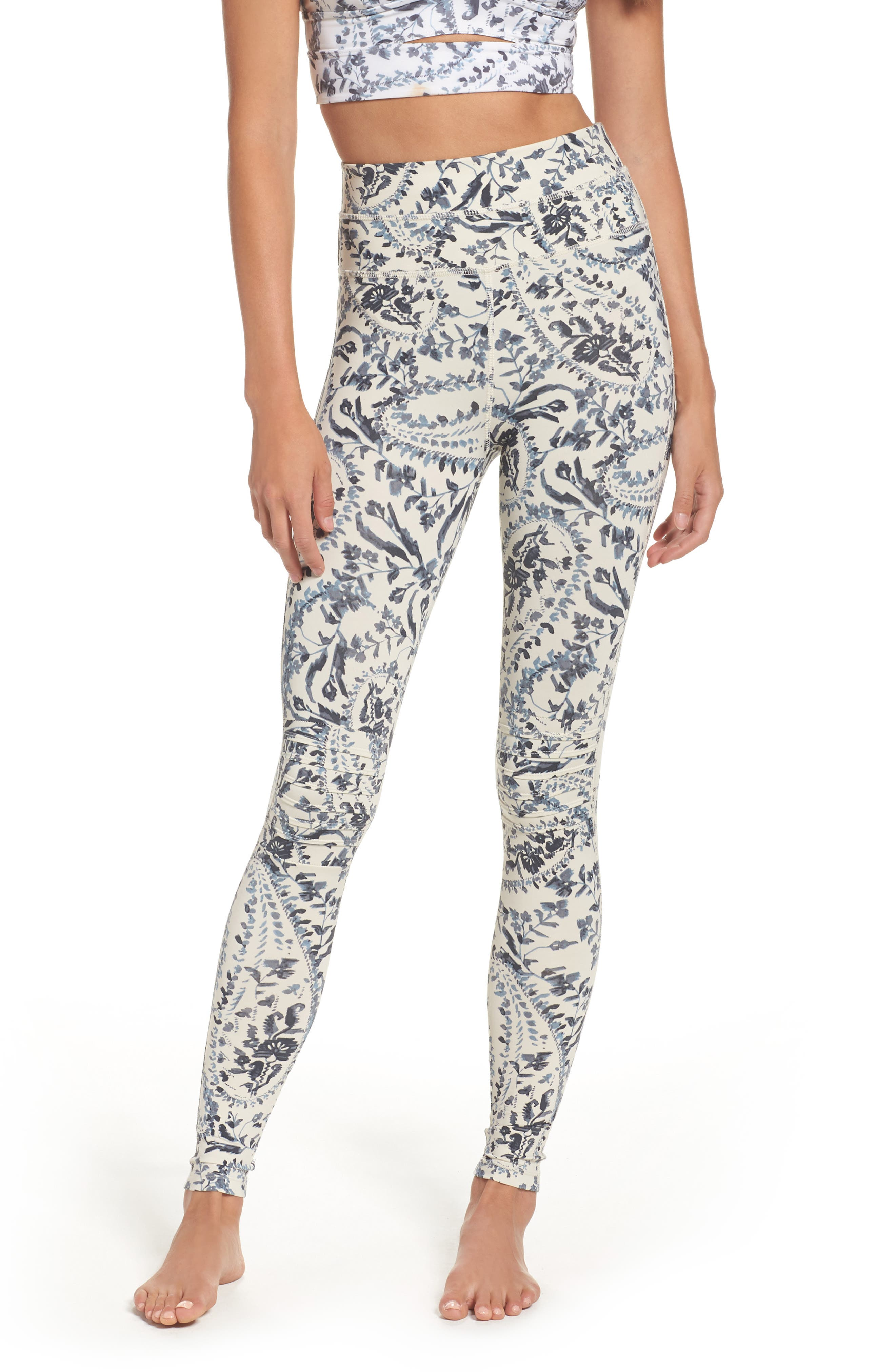 FP Movement Print City Slicker High Waist Leggings,                             Main thumbnail 1, color,                             400