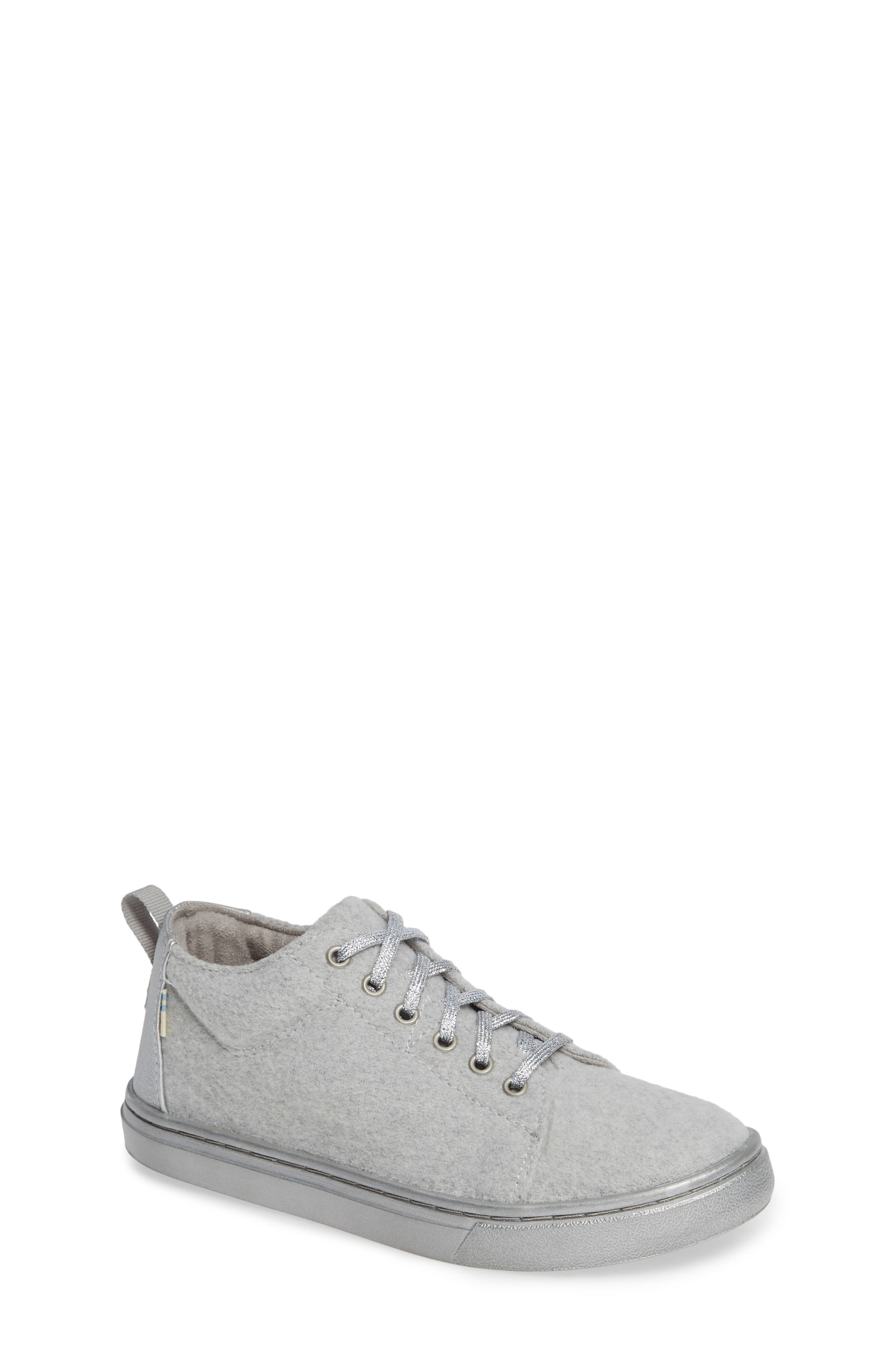 Lenny Mid Top Sneaker,                             Main thumbnail 1, color,                             DRIZZLE GREY FELT