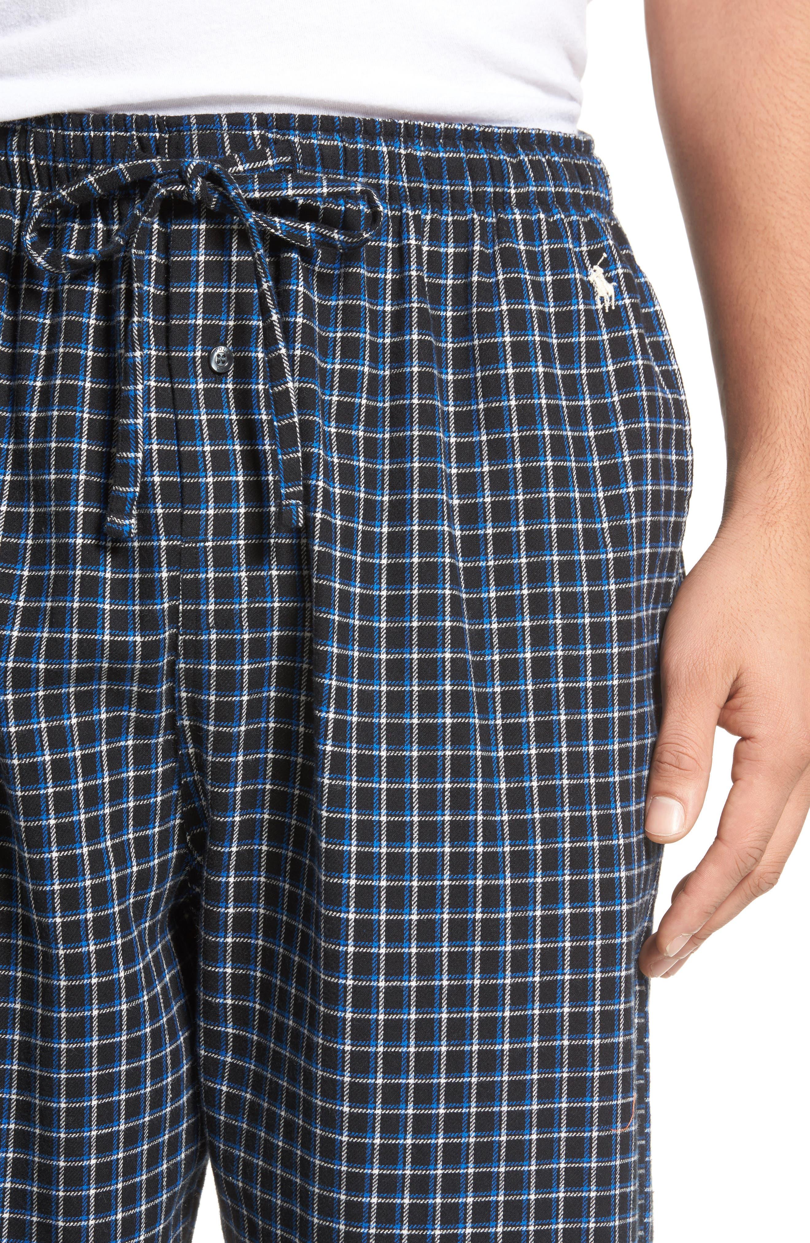 Flannel Pajama Pants,                             Alternate thumbnail 48, color,