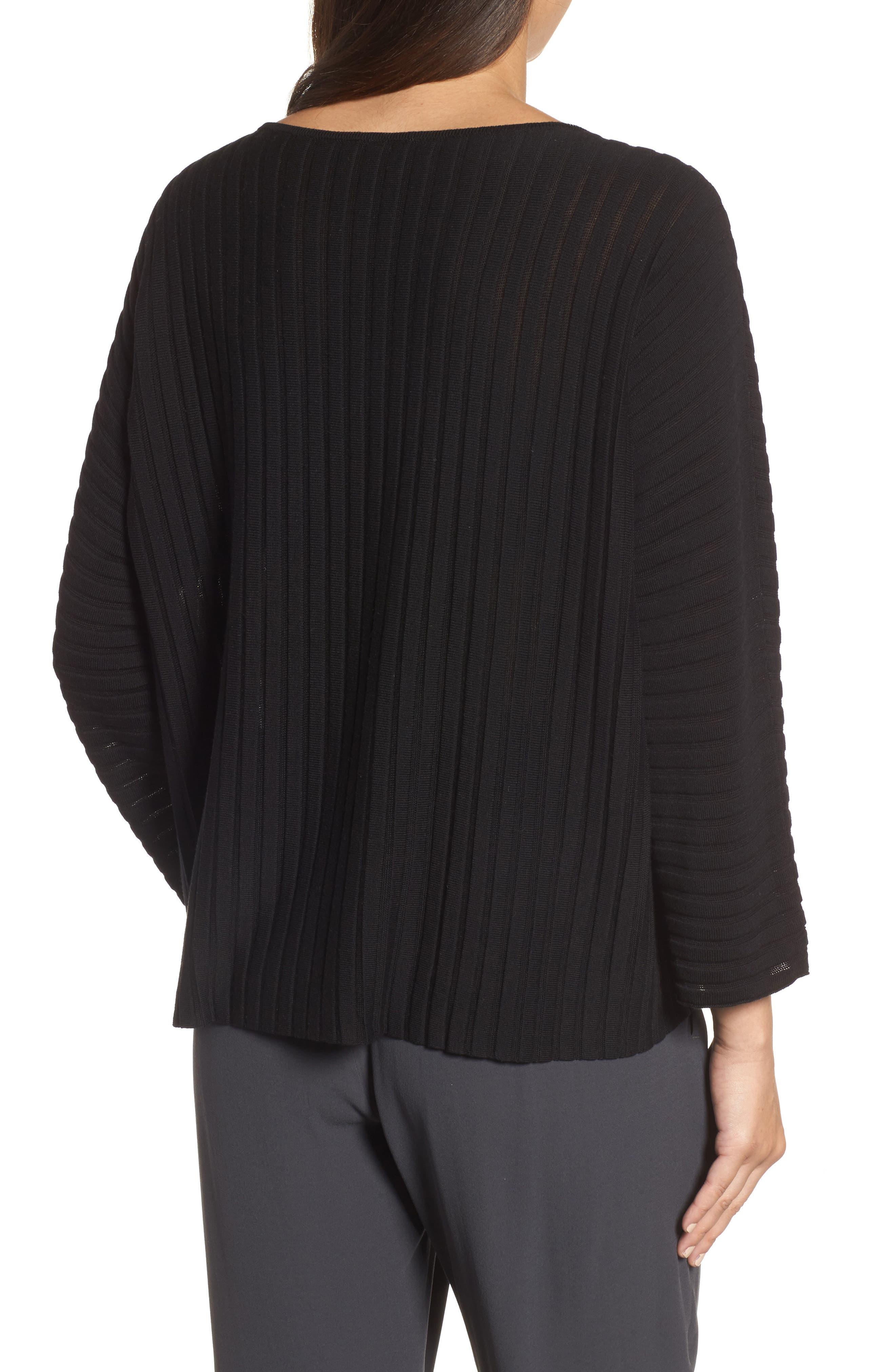 Ribbed Bateau Neck Sweater,                             Alternate thumbnail 5, color,