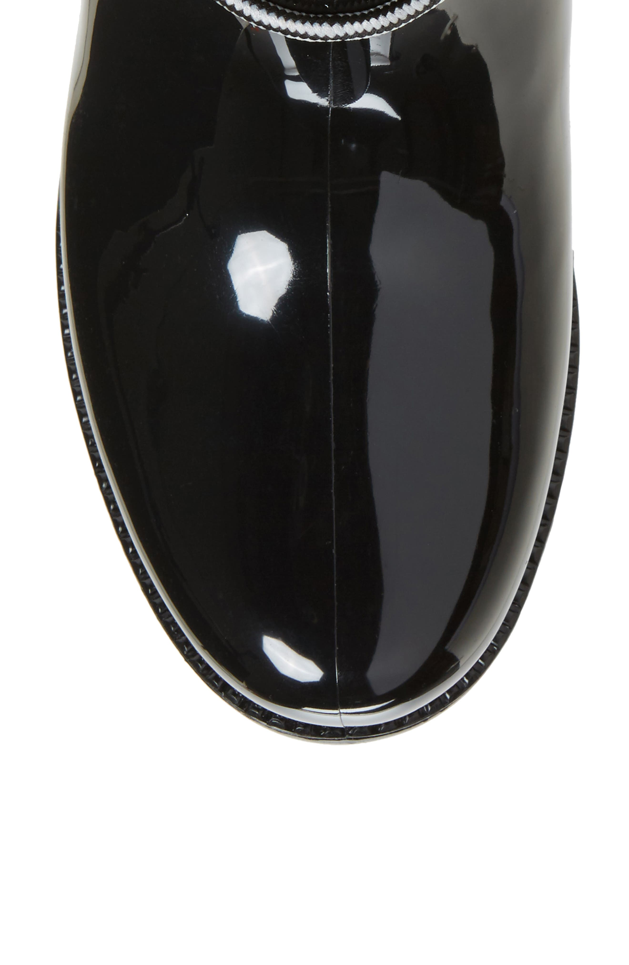 Calgary Faux Shearling Water Resistant Boot,                             Alternate thumbnail 5, color,                             BLACK