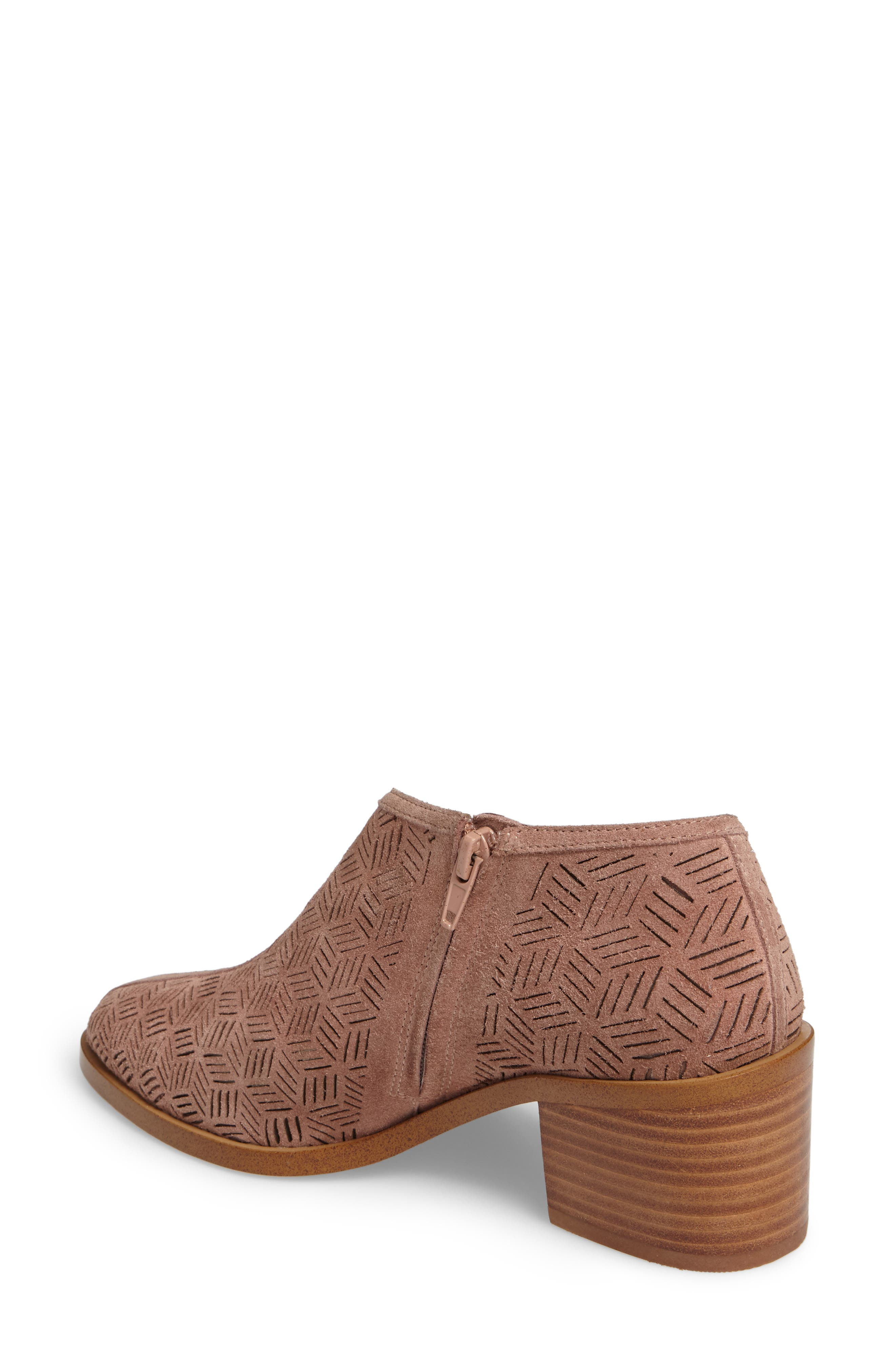 Iddah Perforated Cutaway Bootie,                             Alternate thumbnail 12, color,