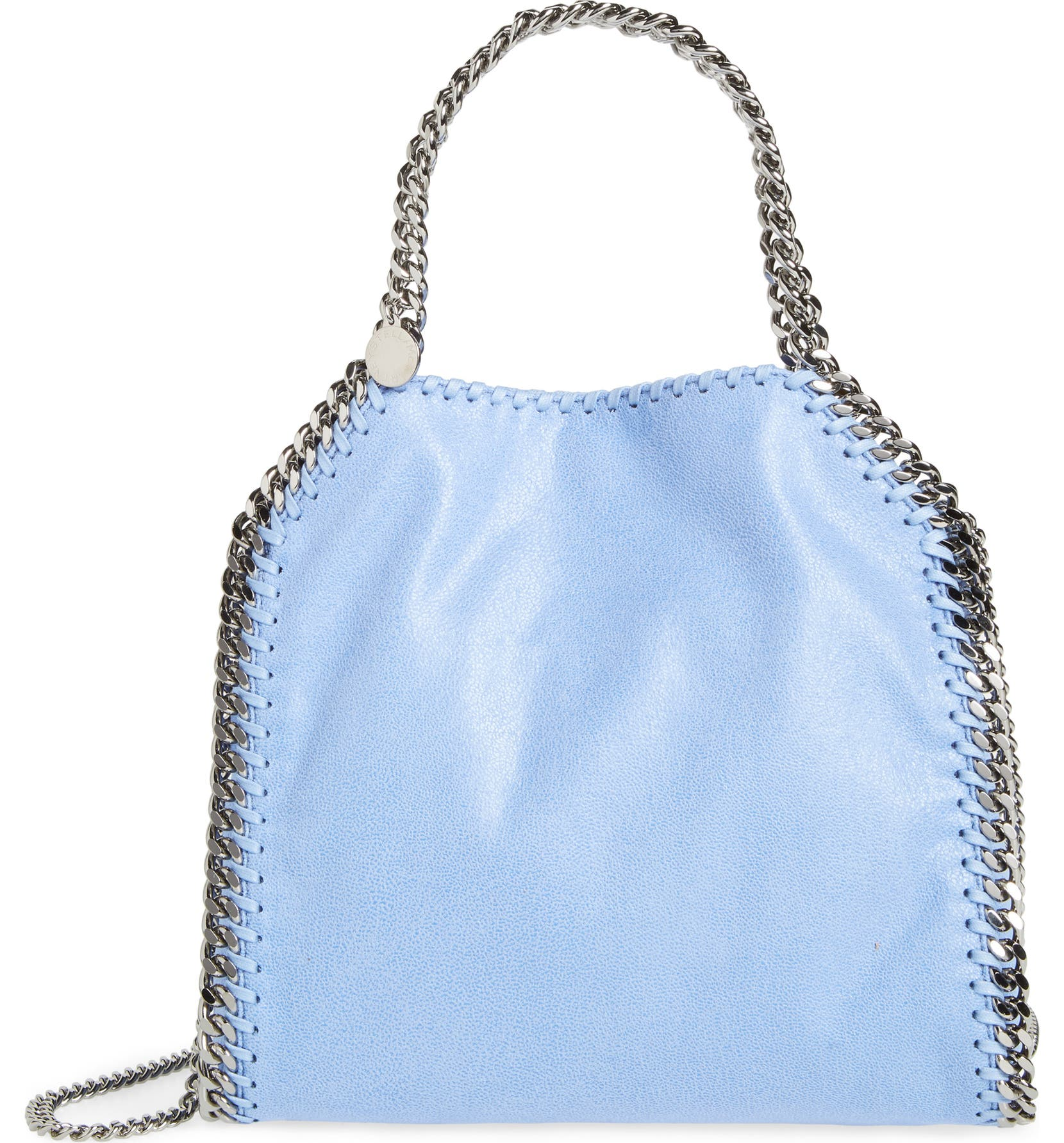 0f7ce287d4bb Stella McCartney  Mini Falabella - Shaggy Deer  Faux Leather Tote ...