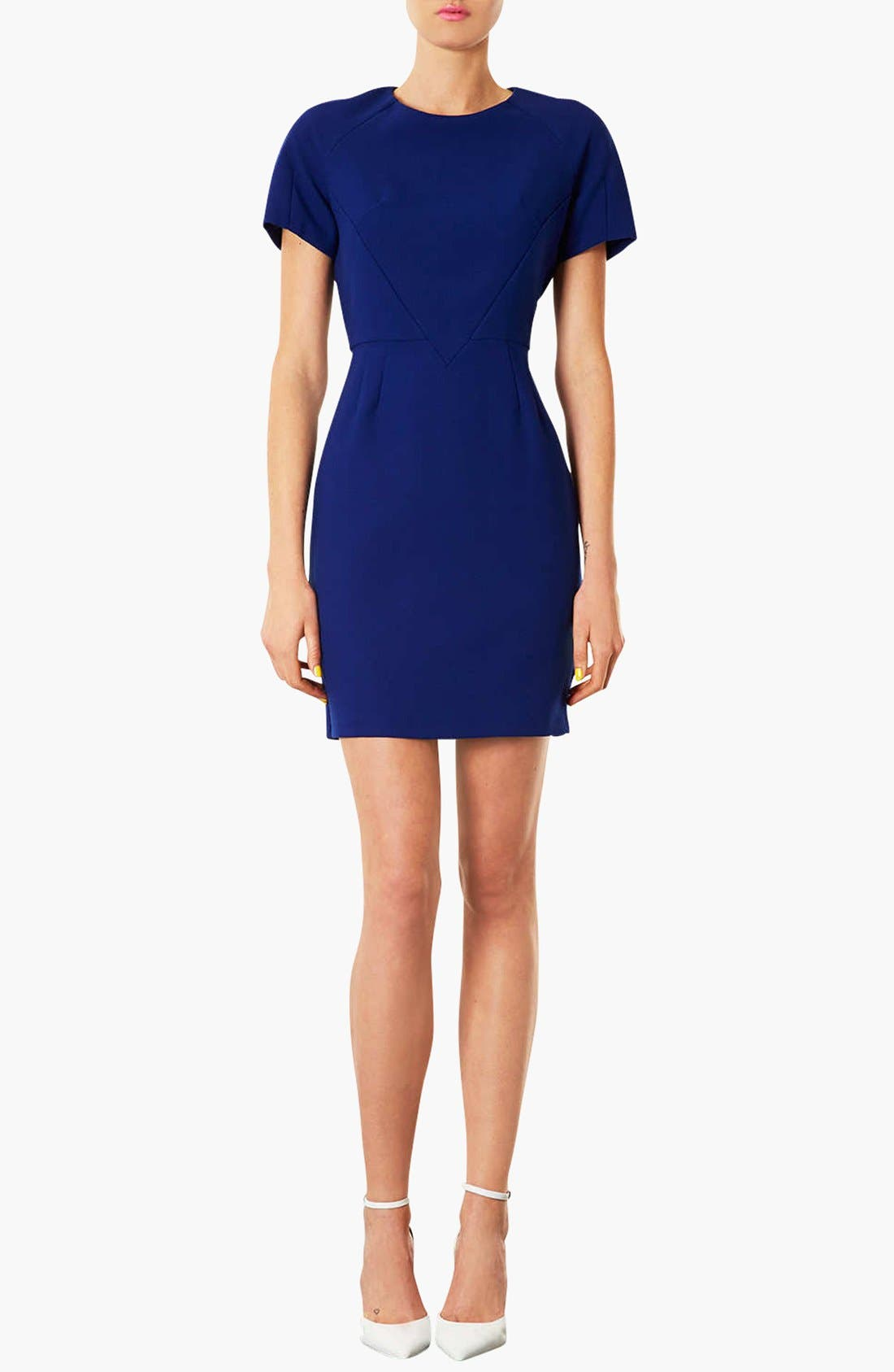 'Harper' Sheath Dress,                             Main thumbnail 1, color,                             430
