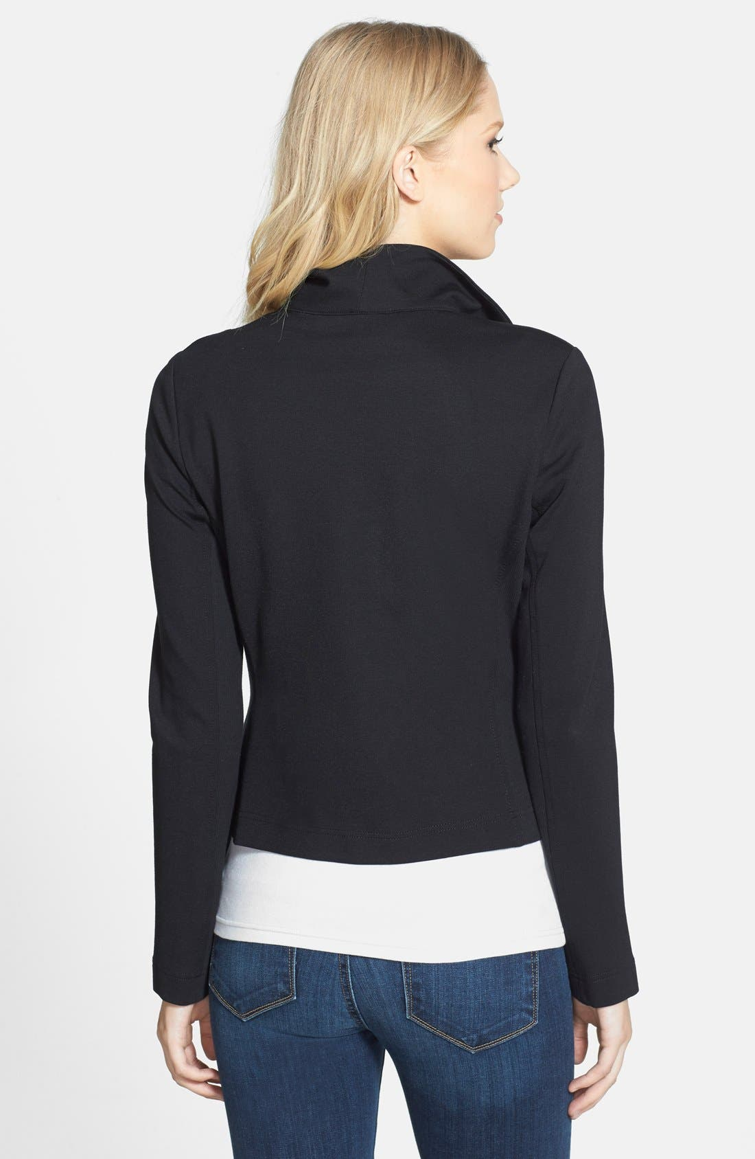 Two by Vince Camuto Ponte Moto Jacket,                             Alternate thumbnail 10, color,                             006