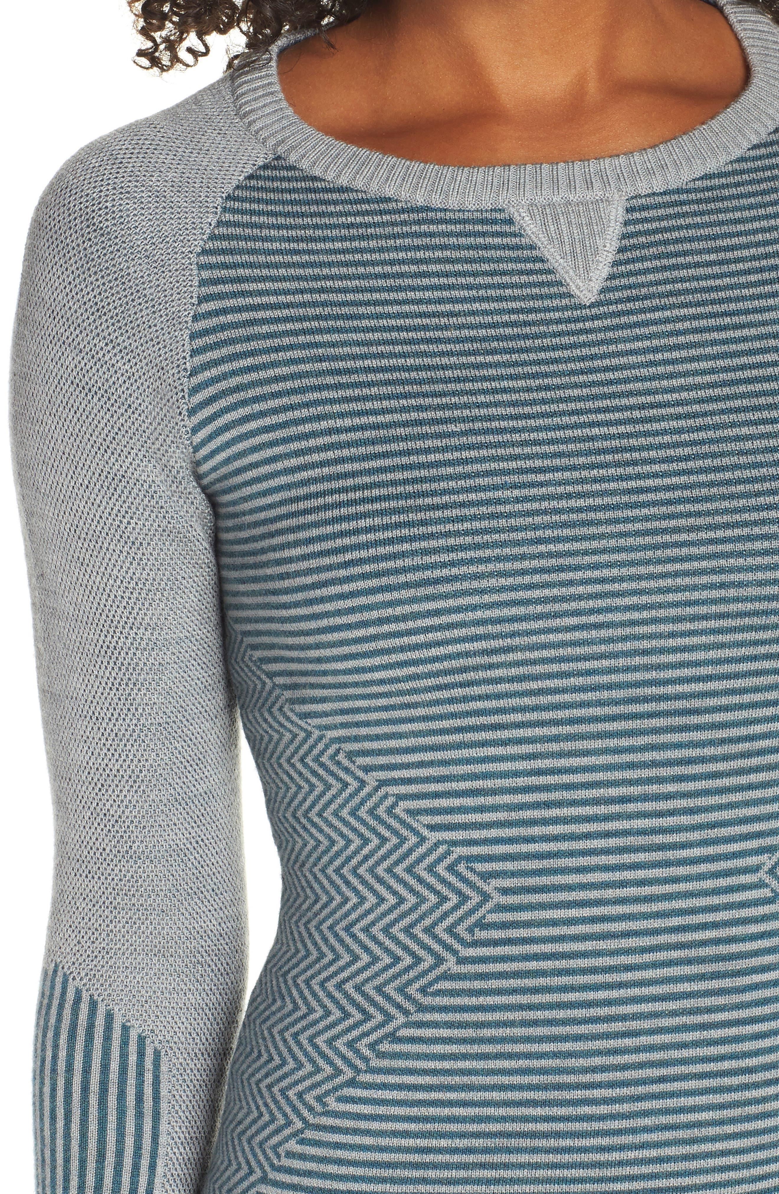 SMARTWOOL,                             Dacono Ski Sweater,                             Alternate thumbnail 4, color,                             310
