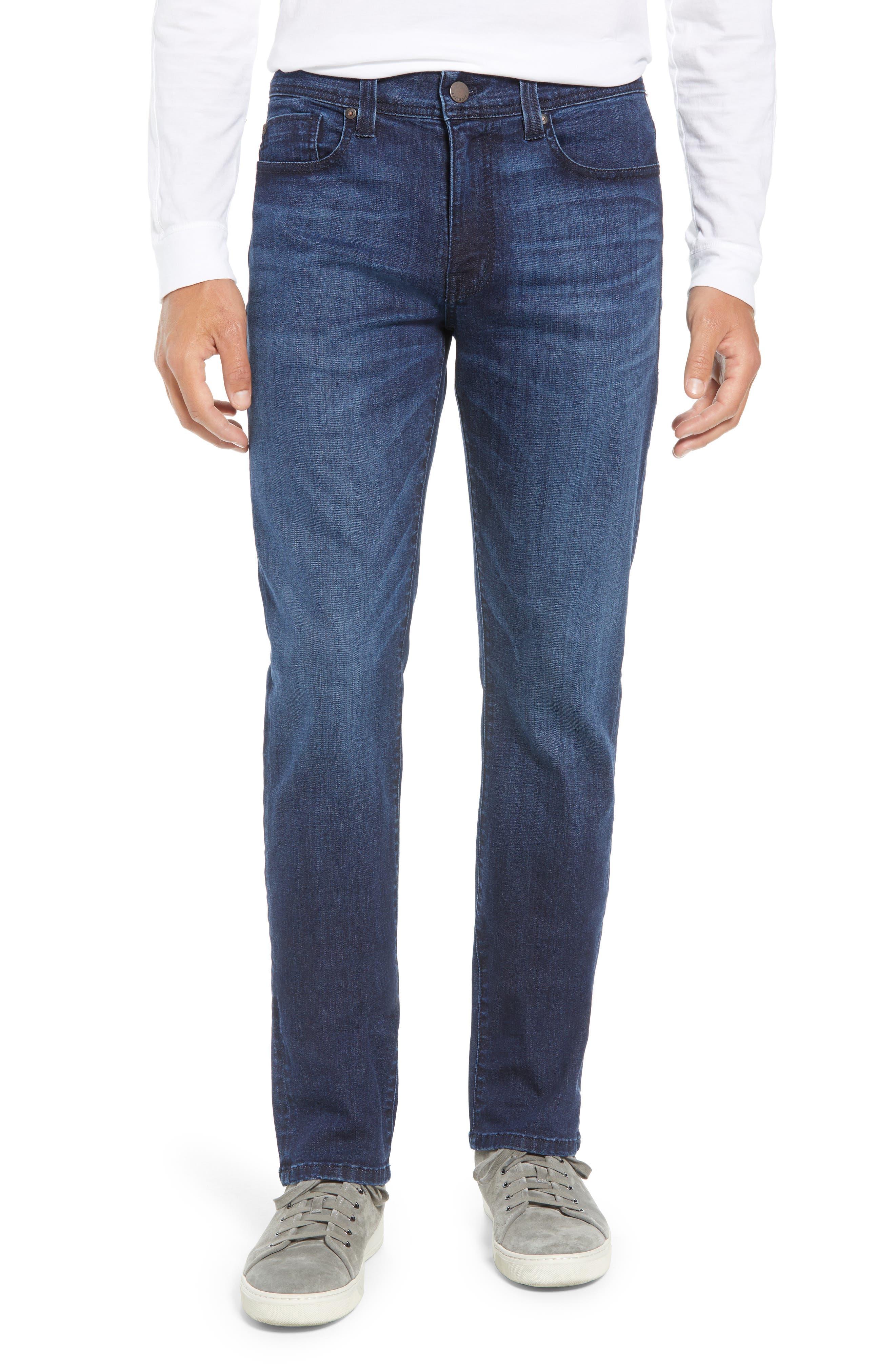 Jimmy Slim Straight Leg Jeans,                         Main,                         color, 400
