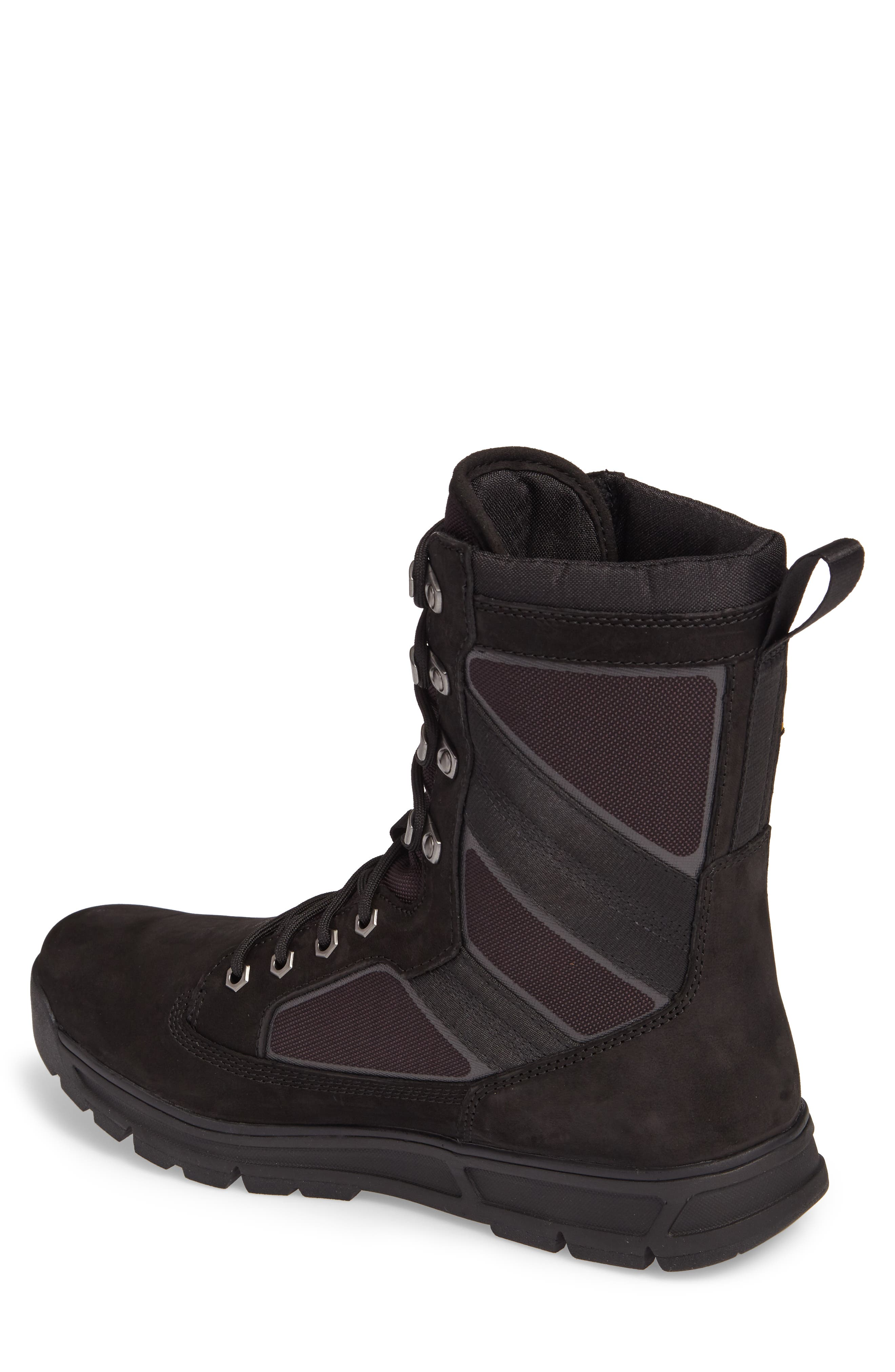 Field Guide Boot,                             Alternate thumbnail 2, color,                             BLACK LEATHER
