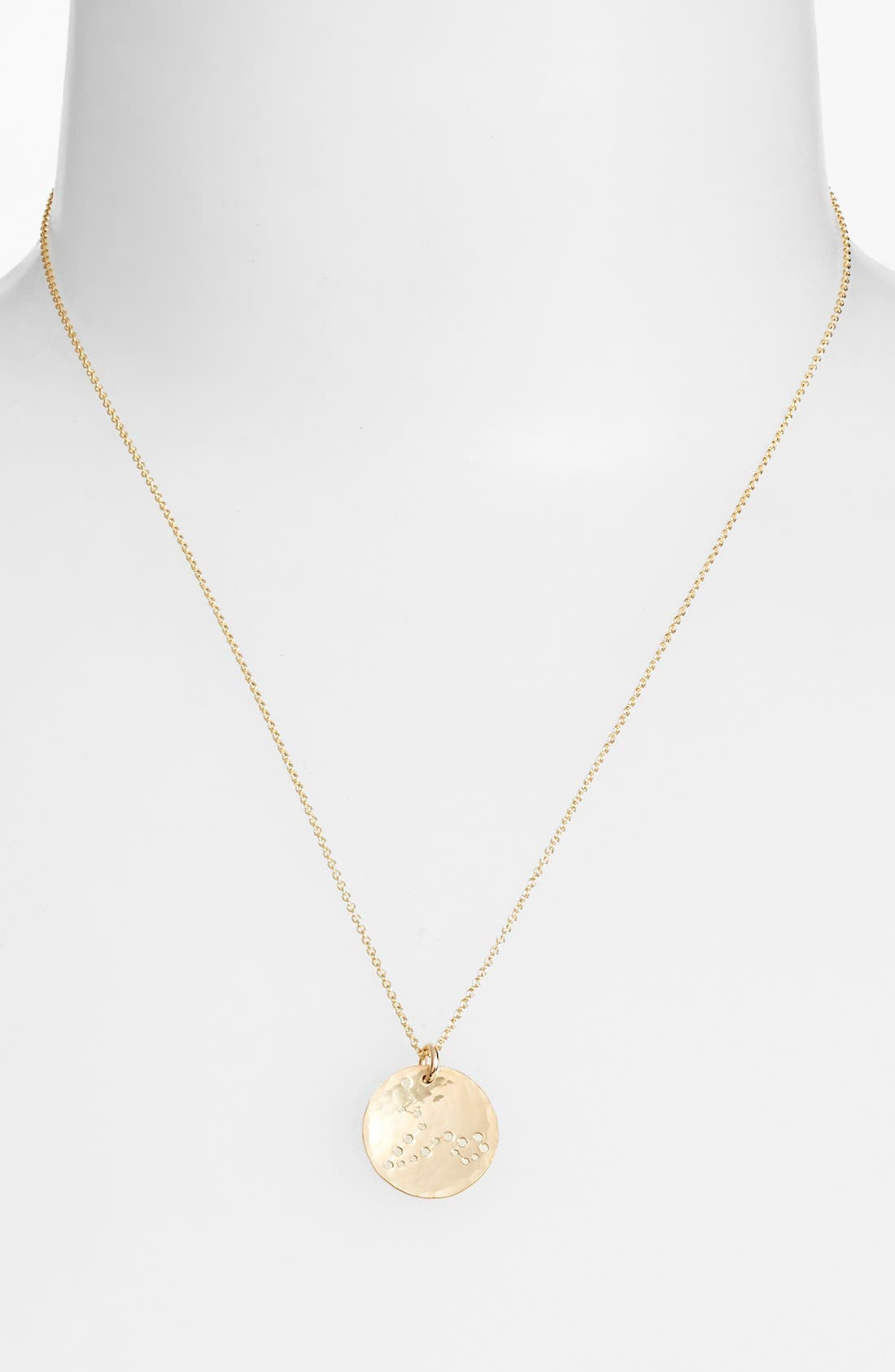 Ija 'Small Zodiac' 14k-Gold Fill Necklace,                             Alternate thumbnail 36, color,
