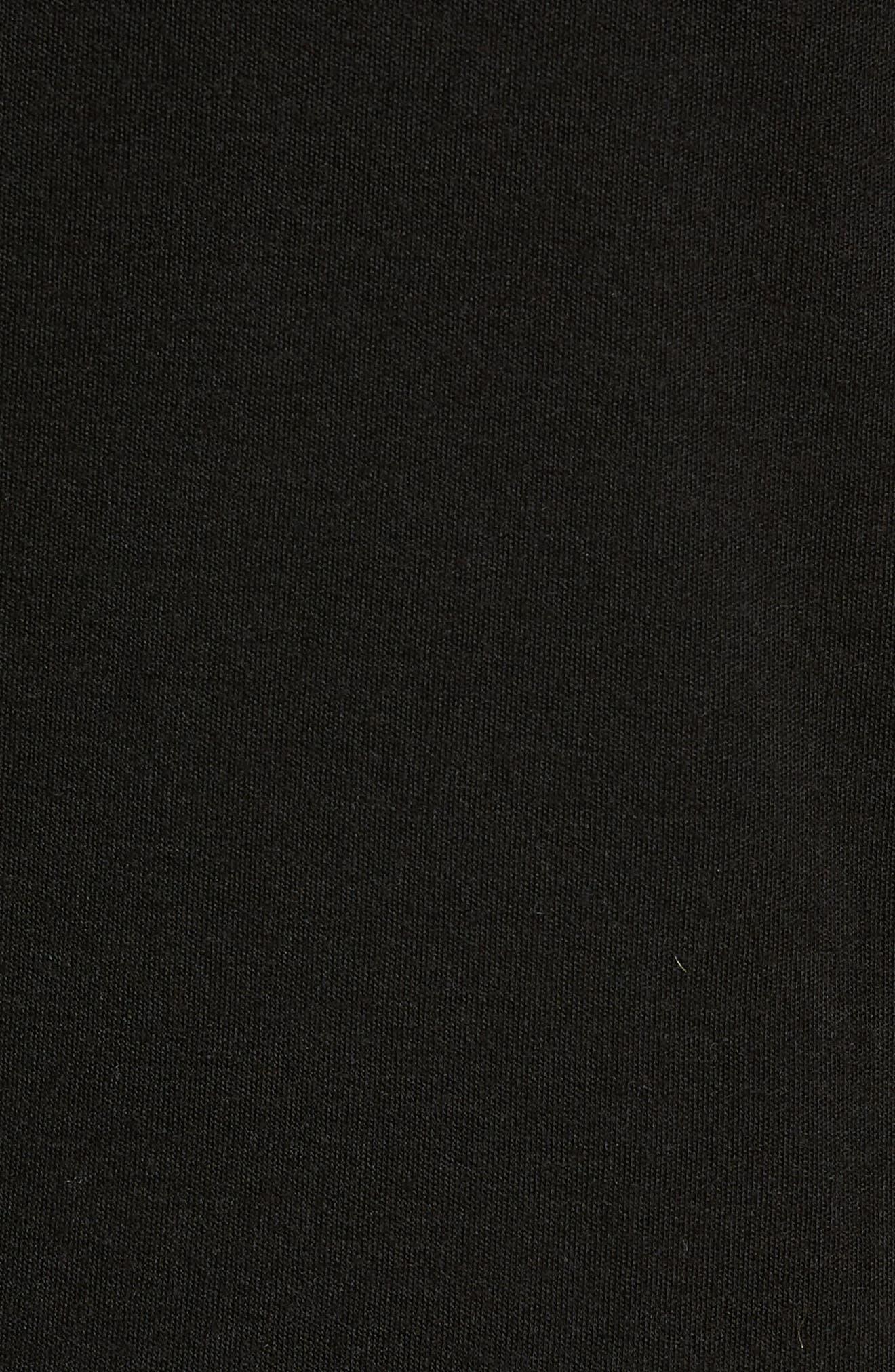 PhD<sup>®</sup> Light Merino Wool Blend Hooded Pullover,                             Alternate thumbnail 5, color,                             BLACK
