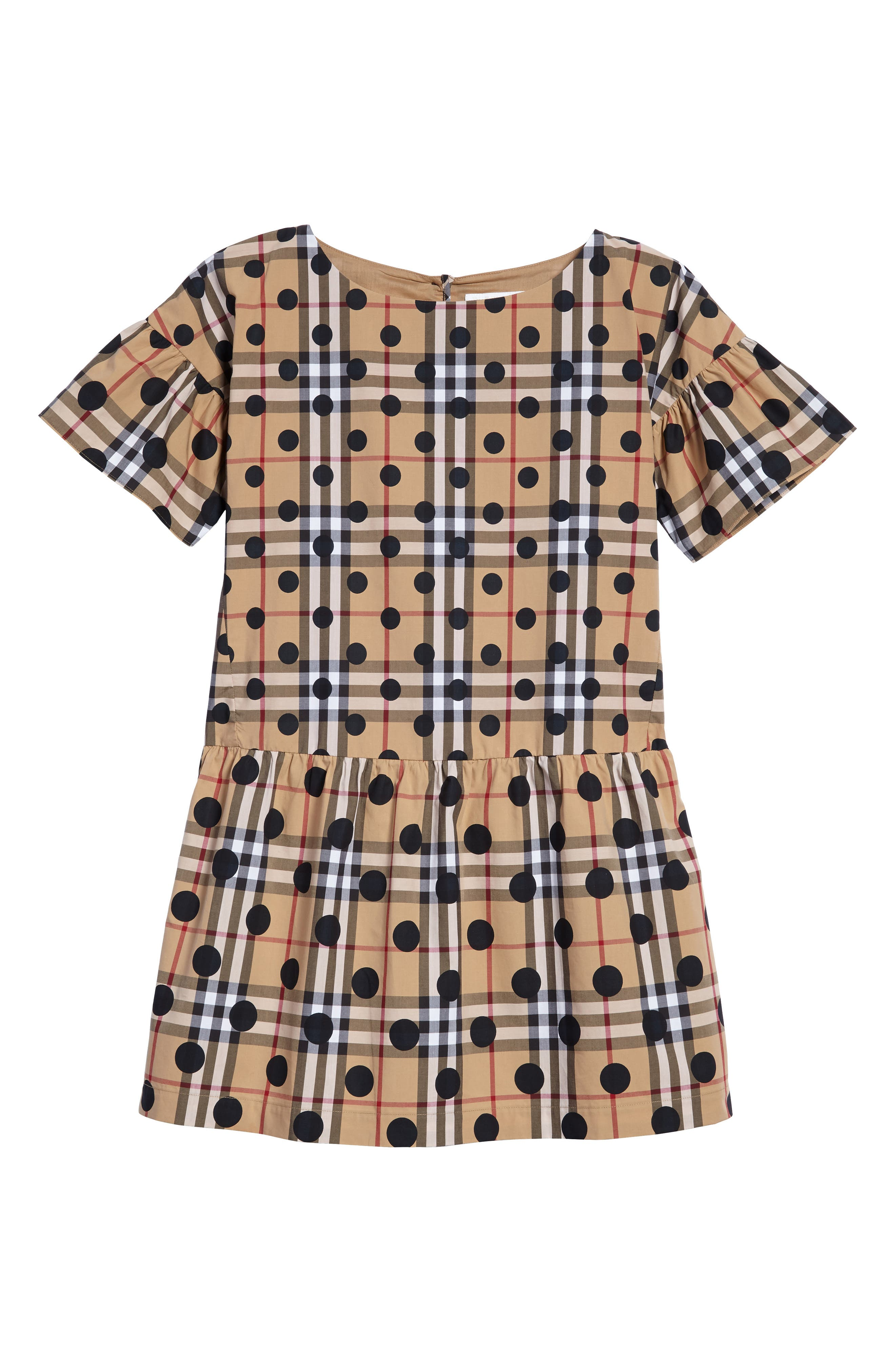 Anabella Drop Waist Dress,                         Main,                         color, 410