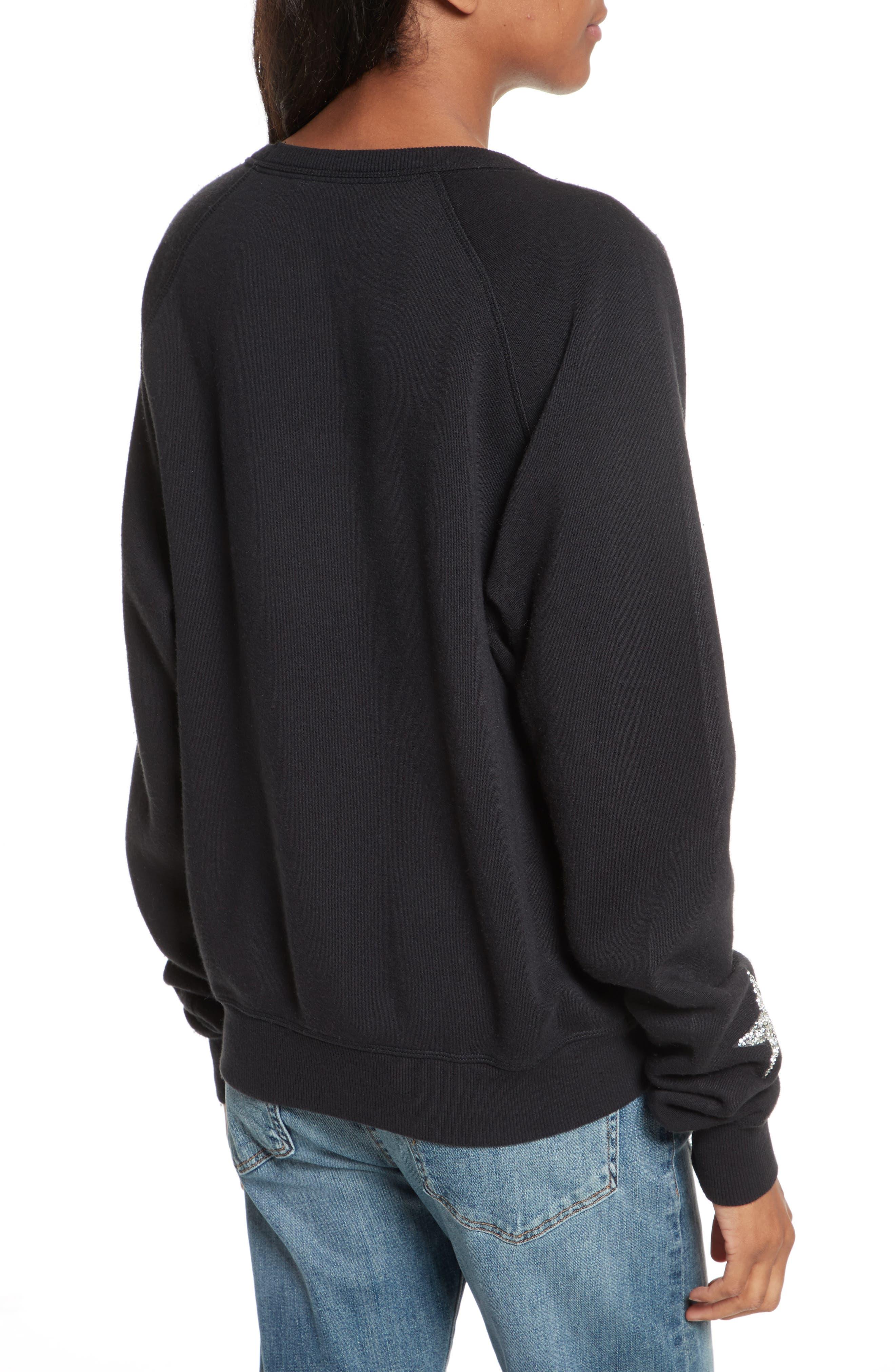 Graham Embellished Sweatshirt,                             Alternate thumbnail 2, color,                             001