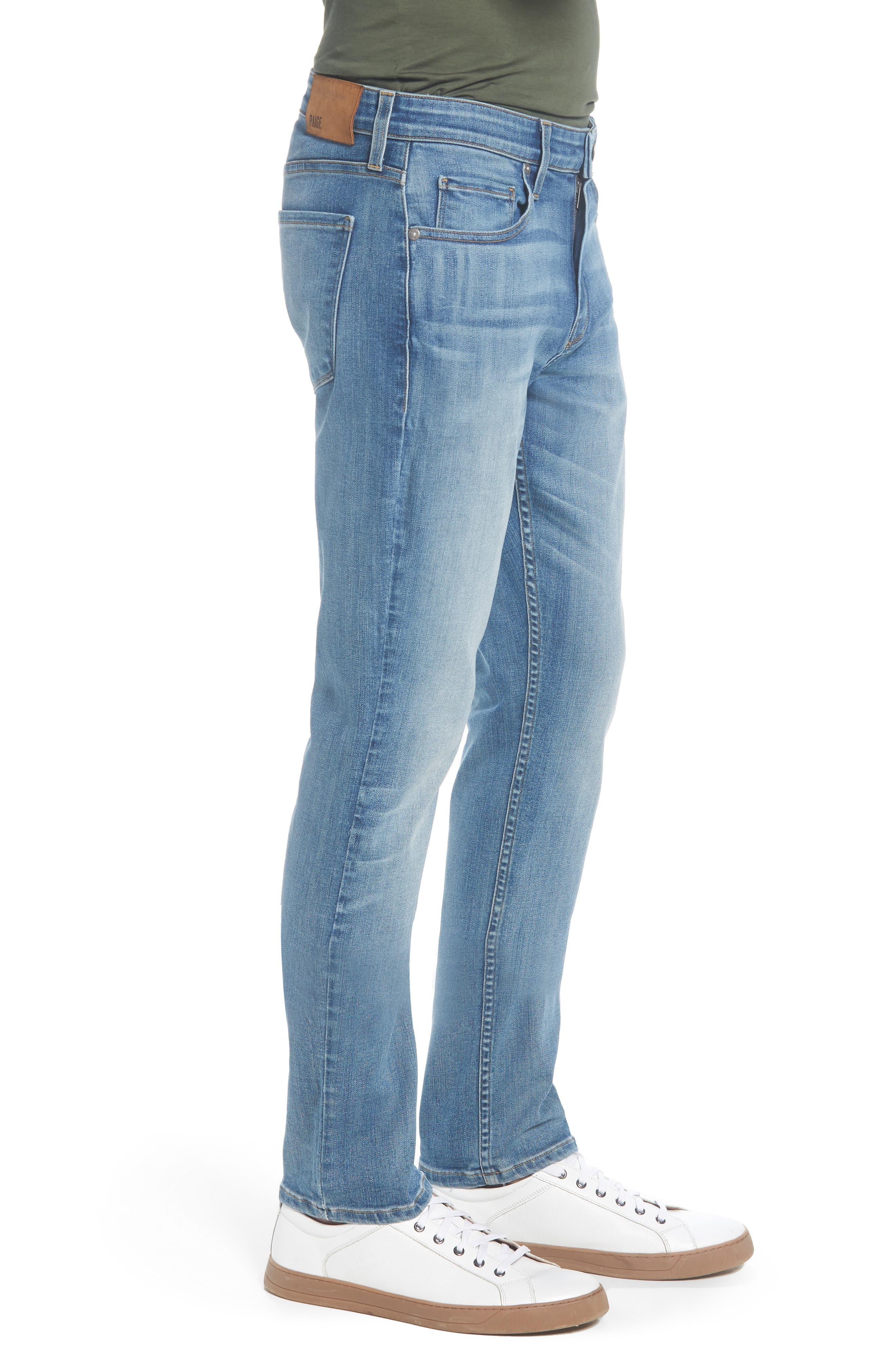 Transcend - Lennox Slim Fit Jeans,                             Alternate thumbnail 3, color,                             CARTWRIGHT