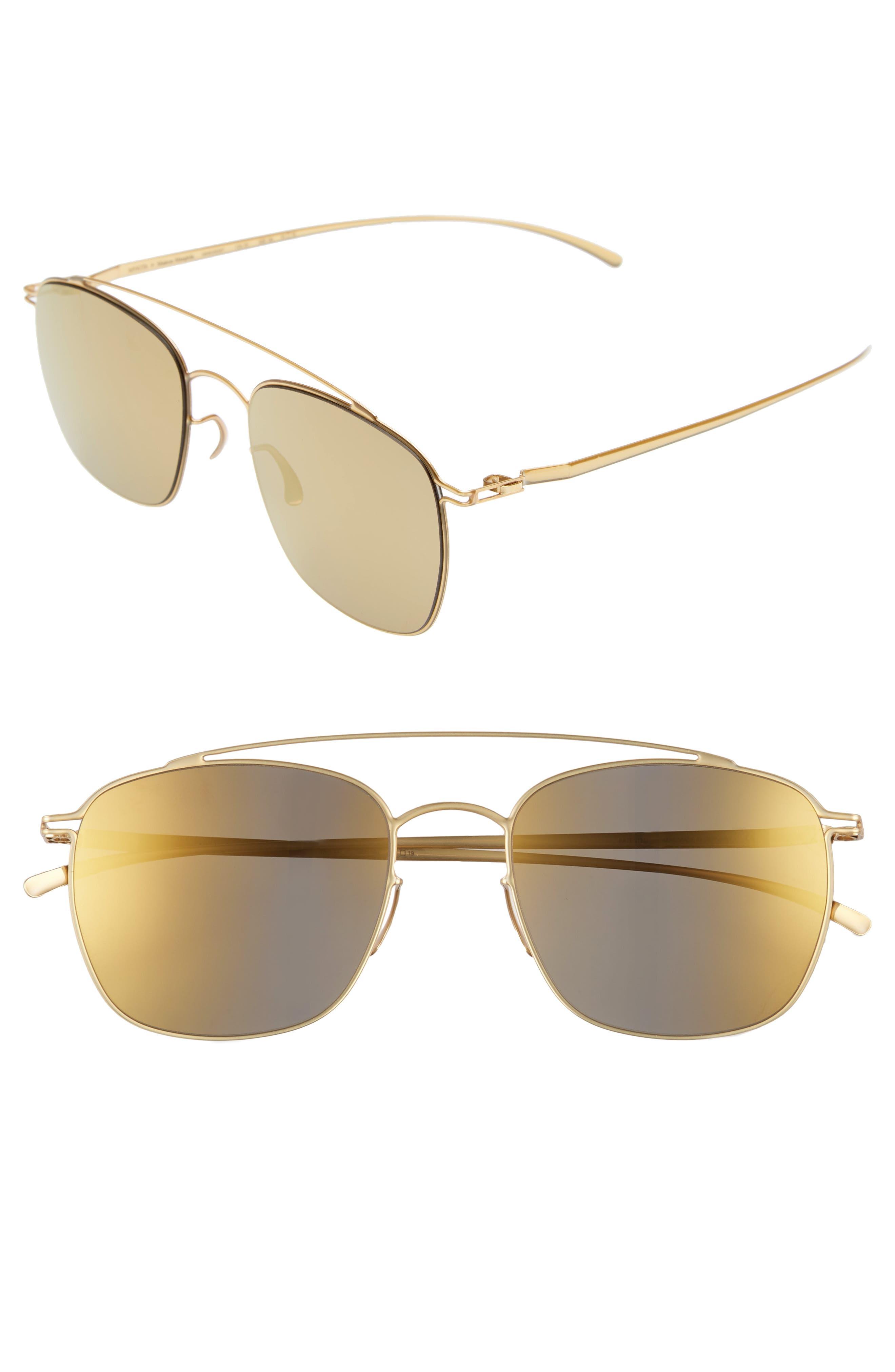 MMESSE007 51mm Aviator Sunglasses,                             Main thumbnail 3, color,