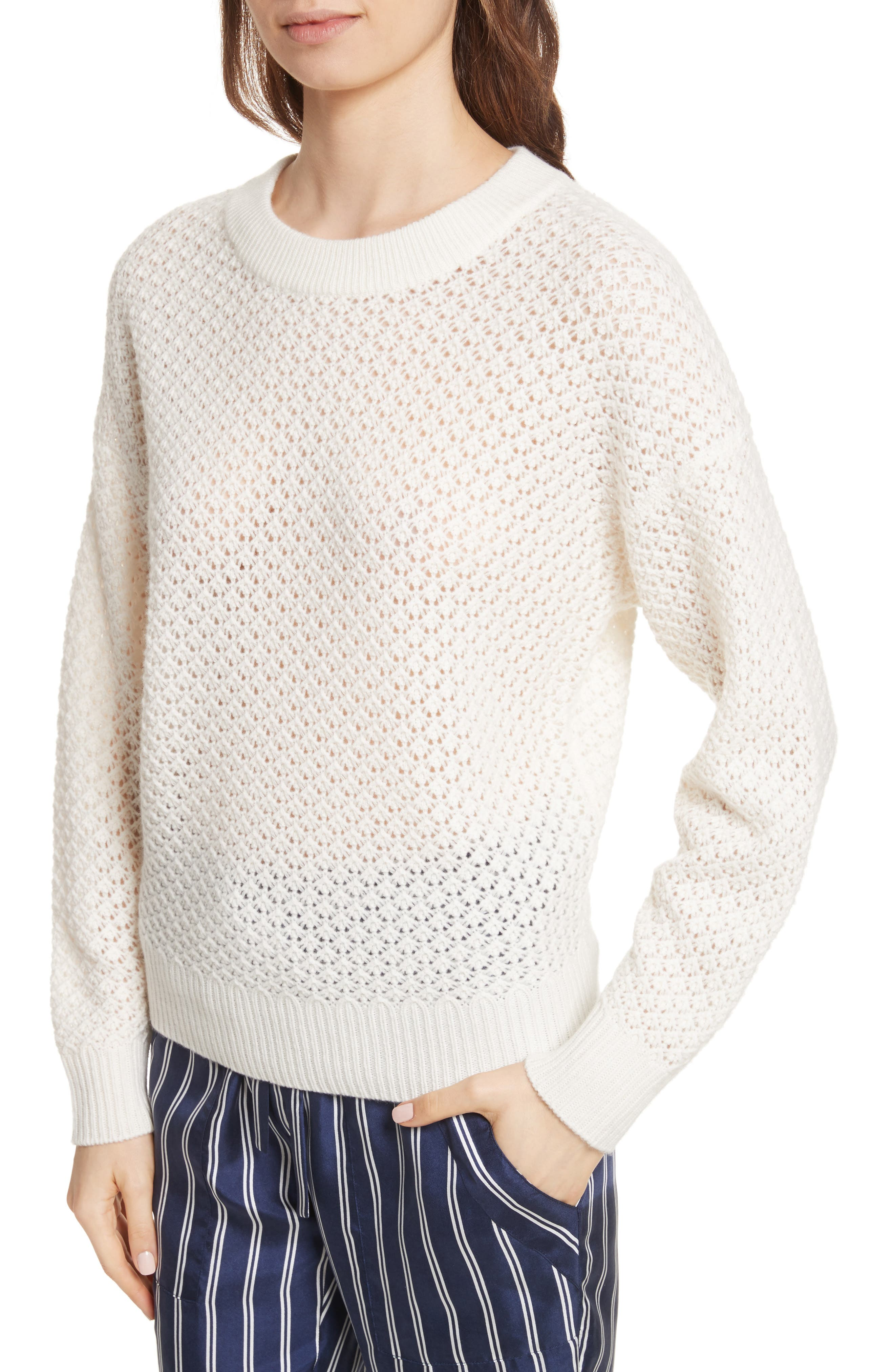 Vedis Wool & Cashmere Sweater,                             Alternate thumbnail 4, color,