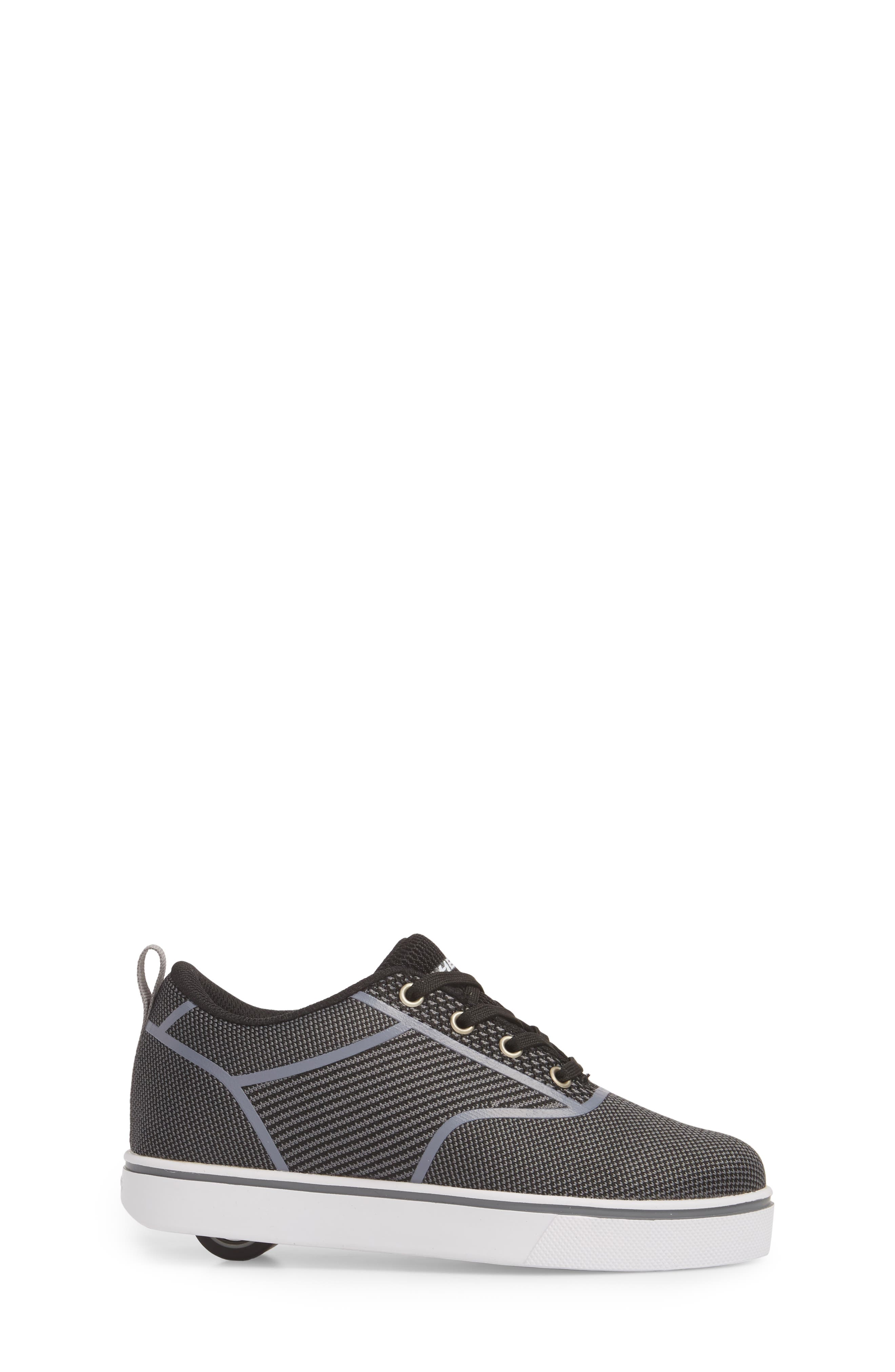Launch Knit Sneaker,                             Alternate thumbnail 3, color,                             BLACK/ CHARCOAL