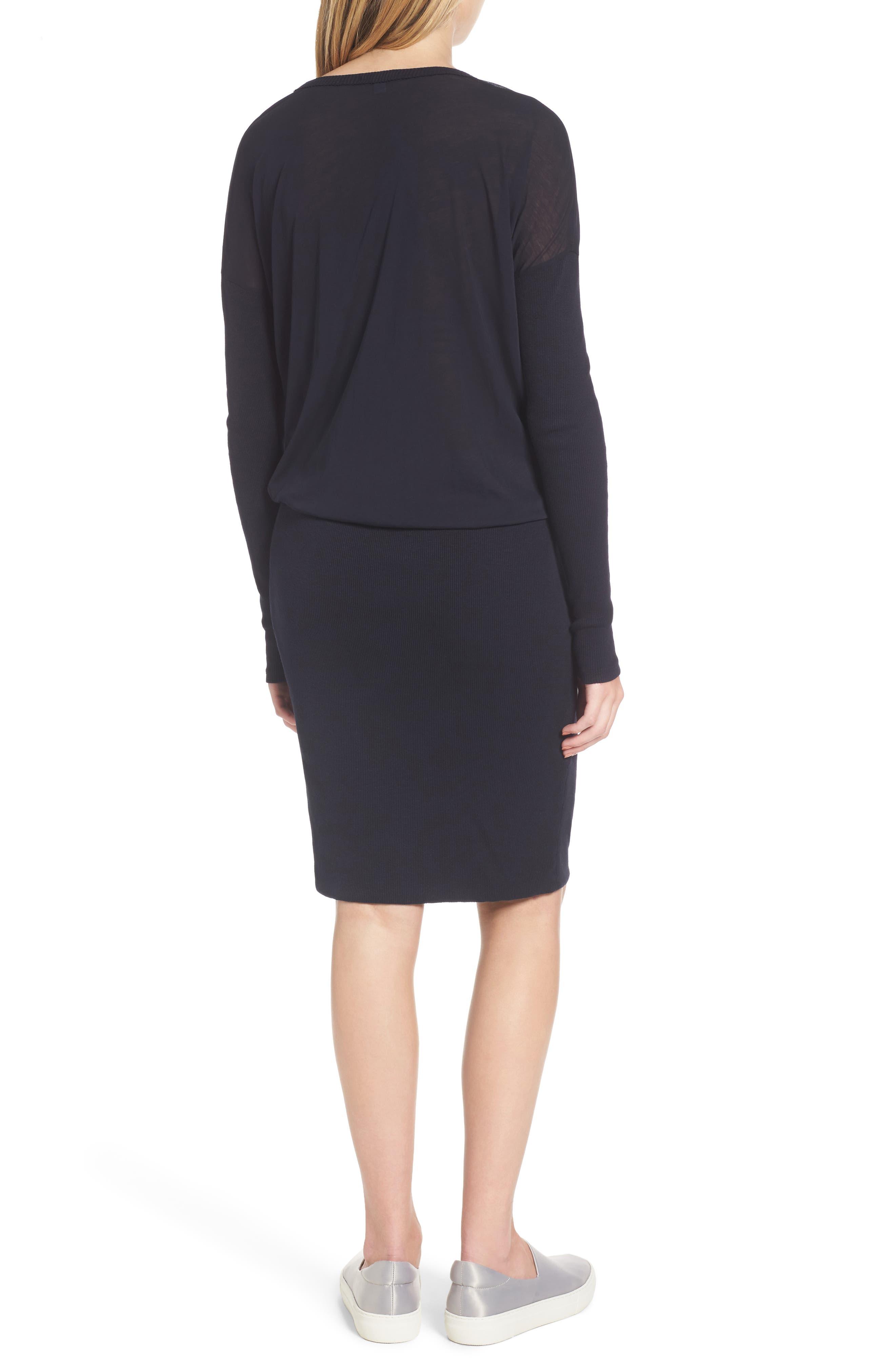 Blouson T-Shirt Dress,                             Alternate thumbnail 2, color,                             415