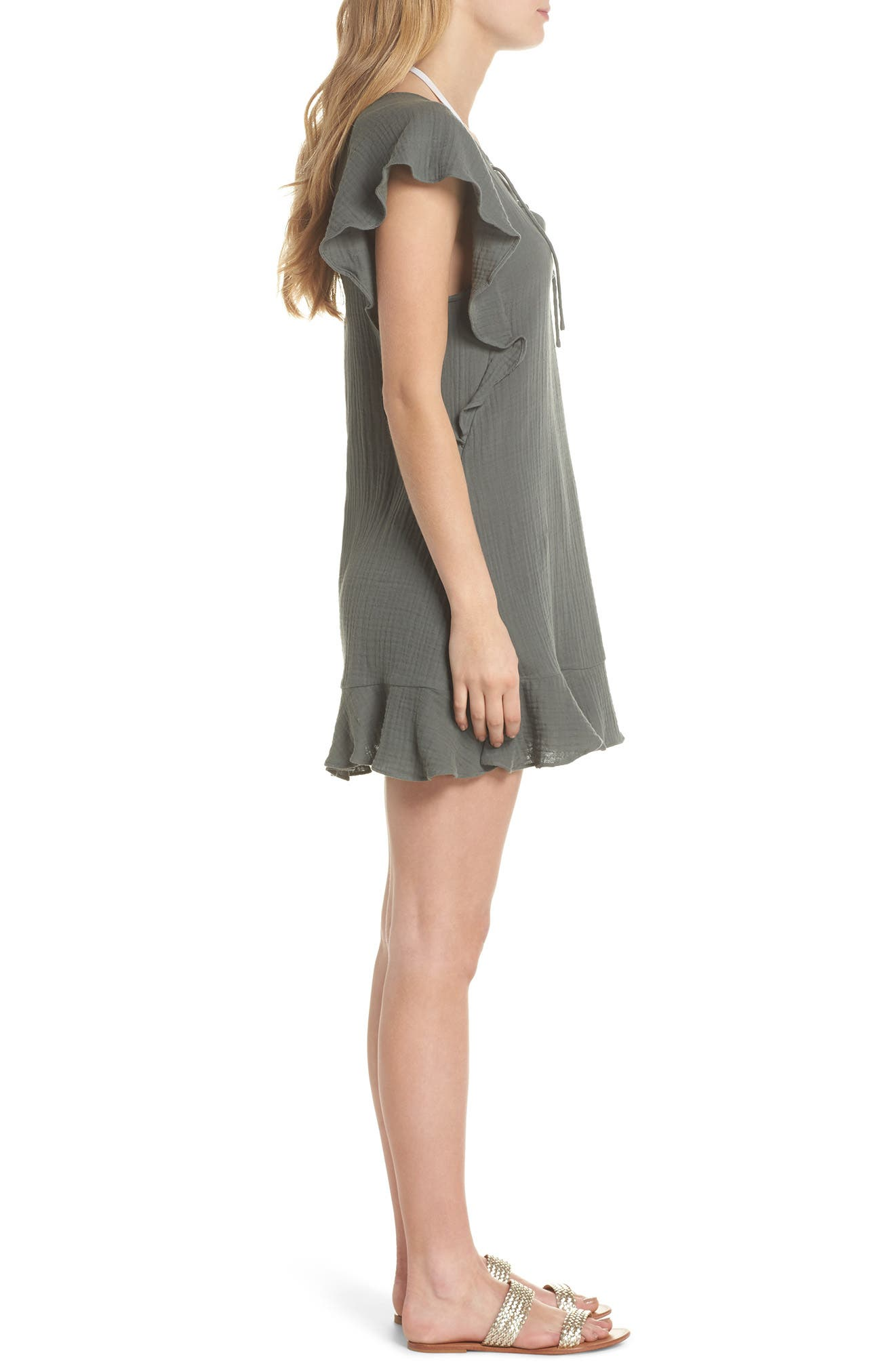 Fia Cover-Up Dress,                             Alternate thumbnail 3, color,                             020