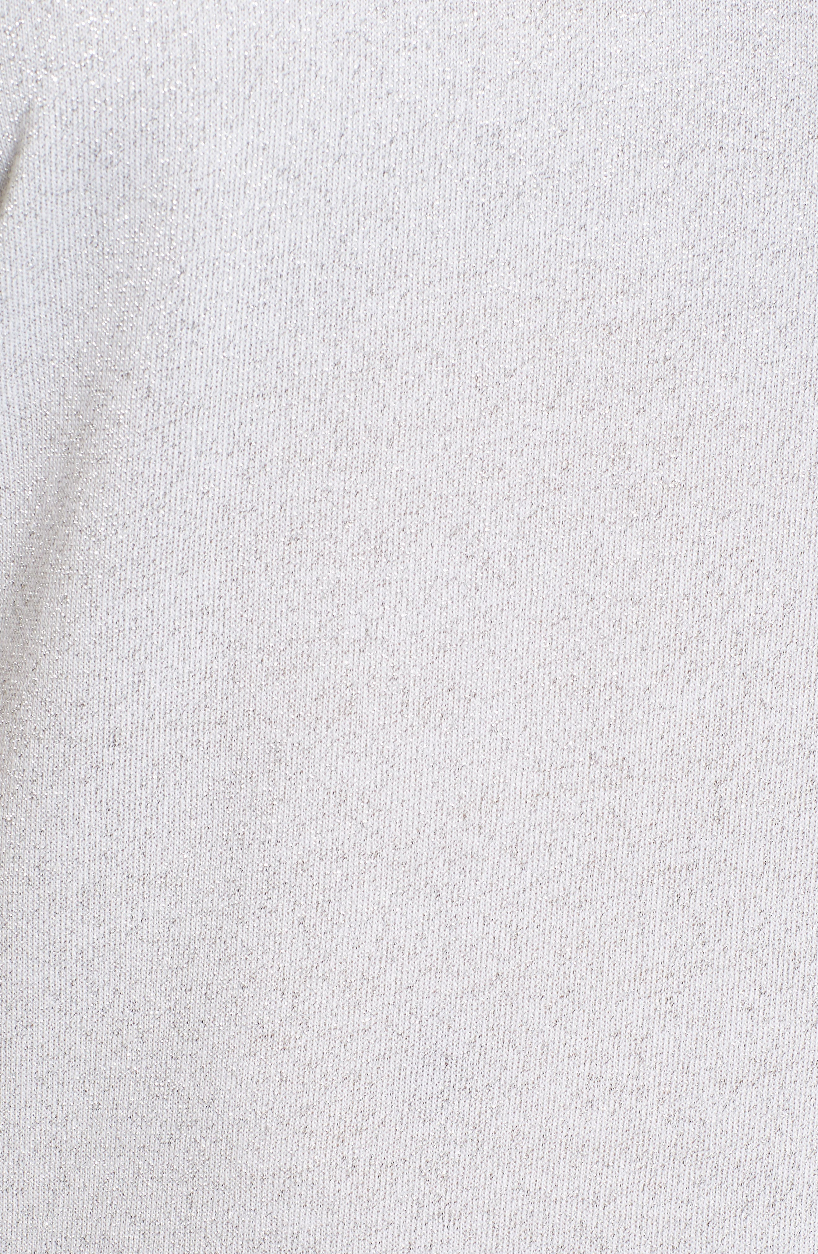 Ruffle Sleeve Top,                             Alternate thumbnail 5, color,
